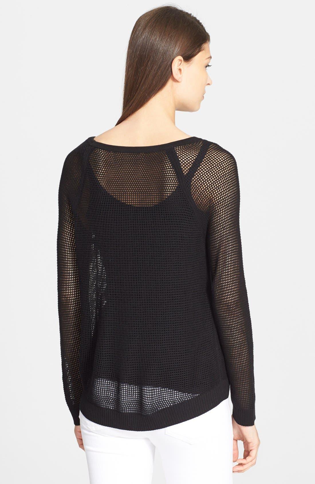 Alternate Image 2  - rag & bone/JEAN 'Odette' Raglan Pullover
