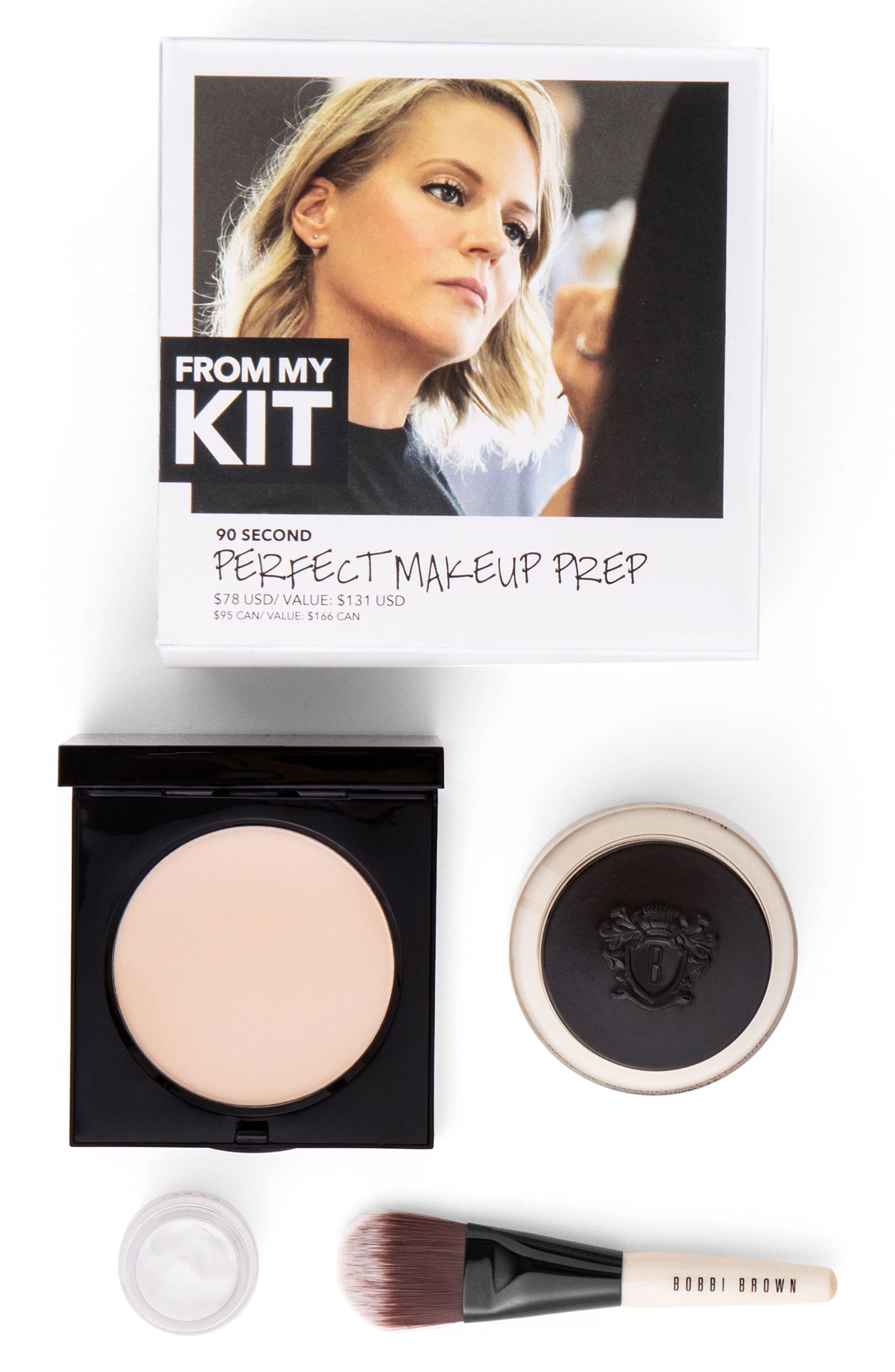 90 Second Perfect Makeup Prep Collection,                             Main thumbnail 1, color,                             Soft Sand