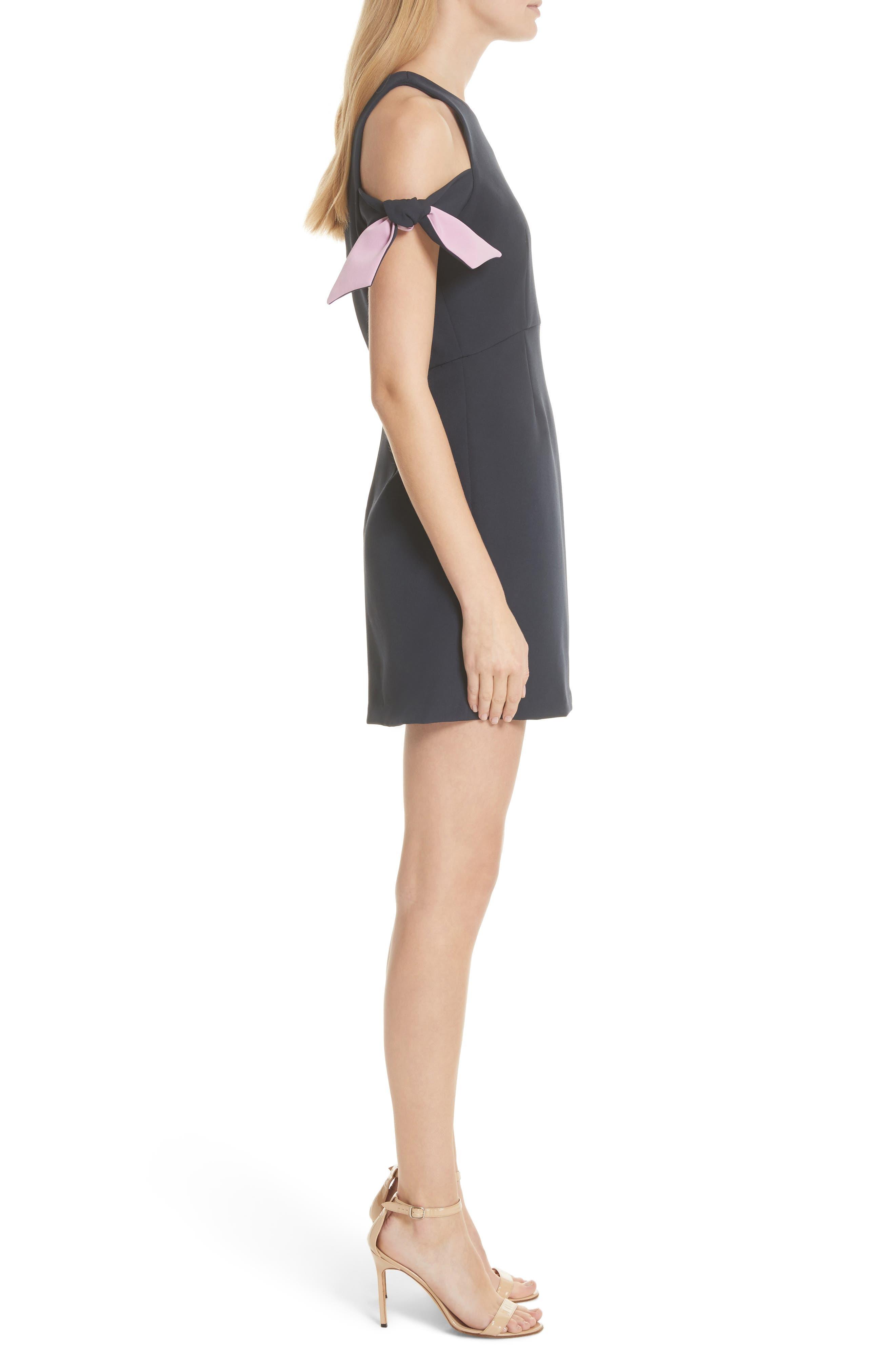 Alternate Image 3  - Milly Madison Cold Shoulder Minidress