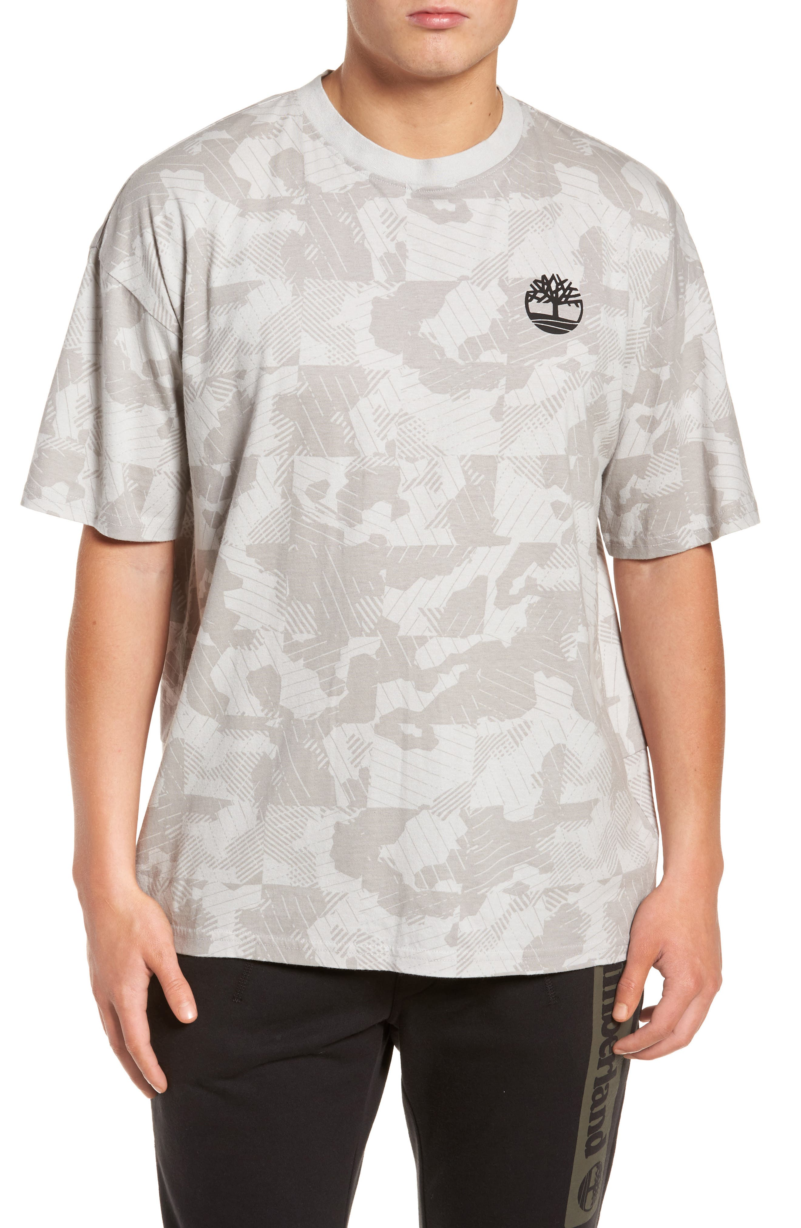 Disruptive Crewneck T-Shirt,                         Main,                         color, Micro Chip Camo