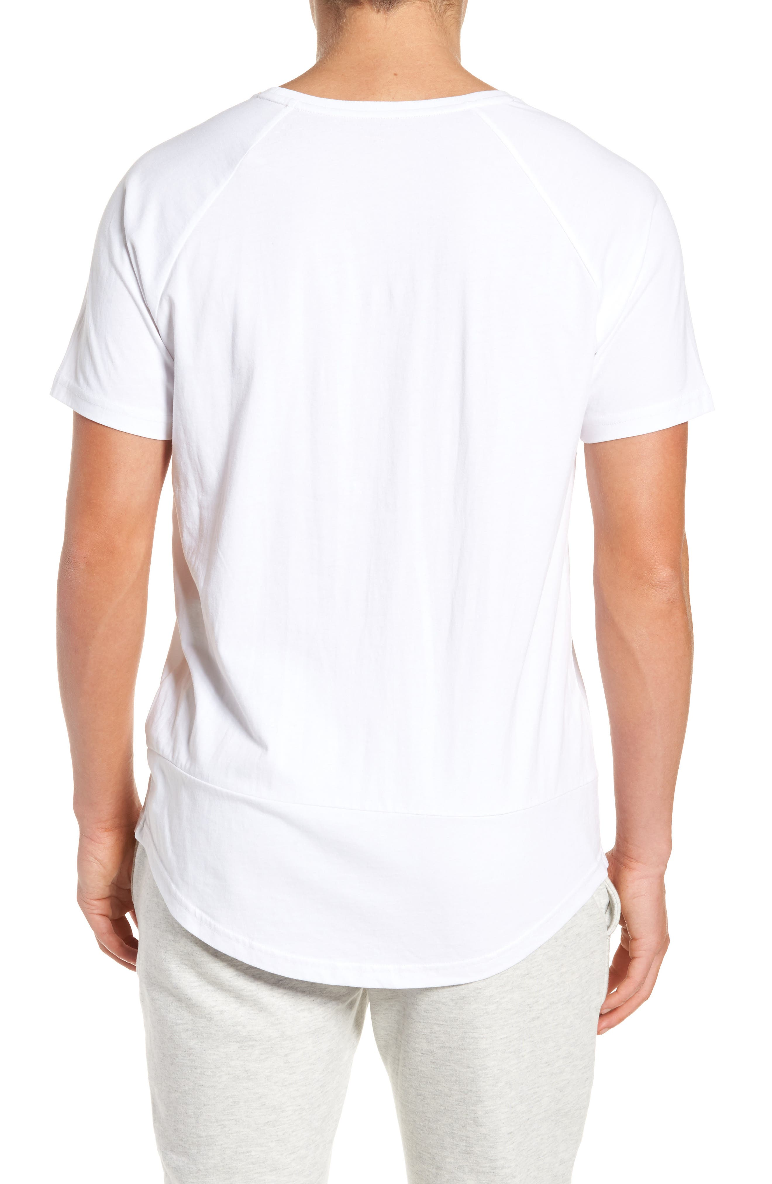 Camo Logo T-Shirt,                             Alternate thumbnail 2, color,                             White