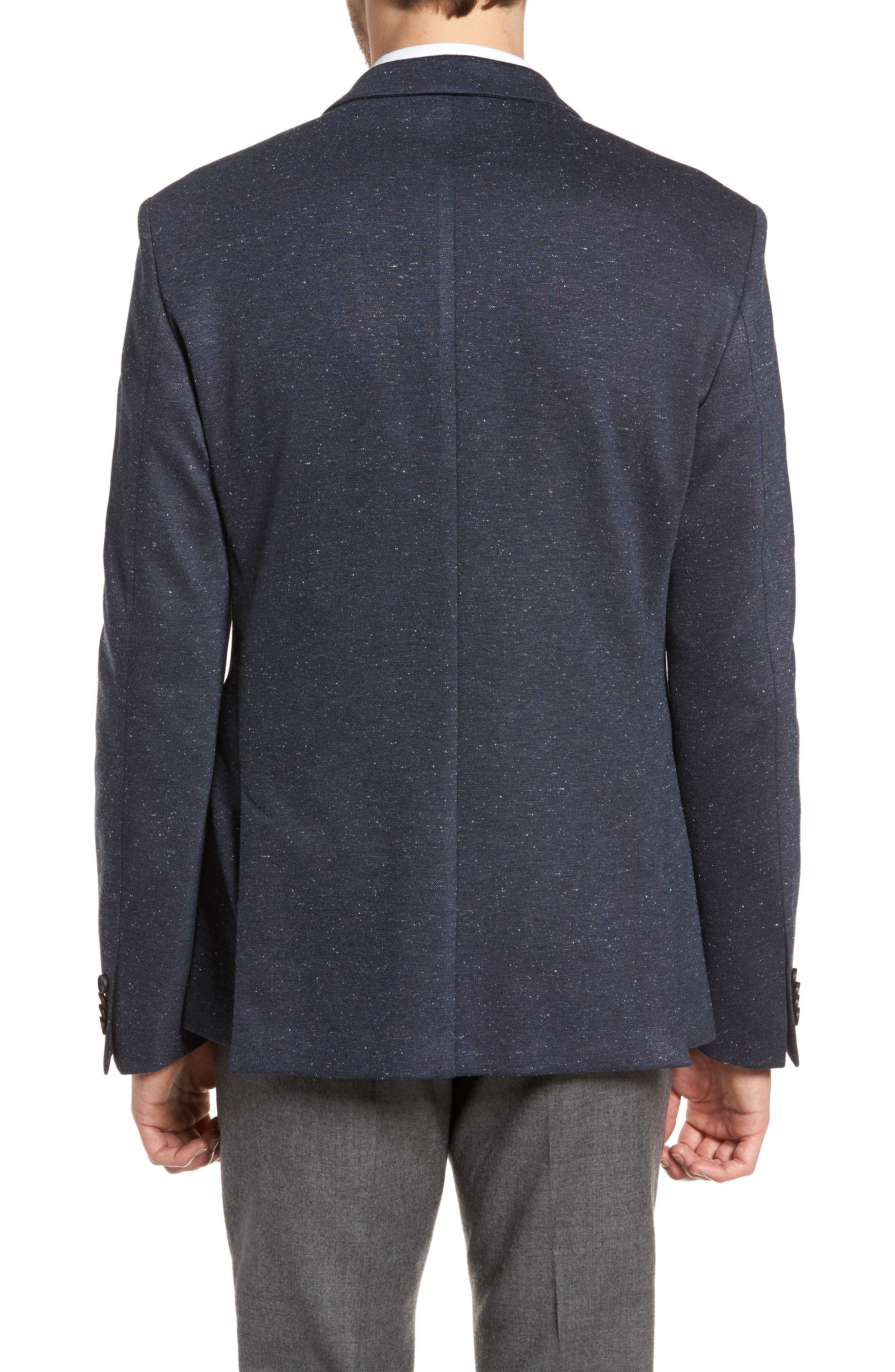 Alternate Image 2  - BOSS Norwin Trim Fit Stretch Blazer