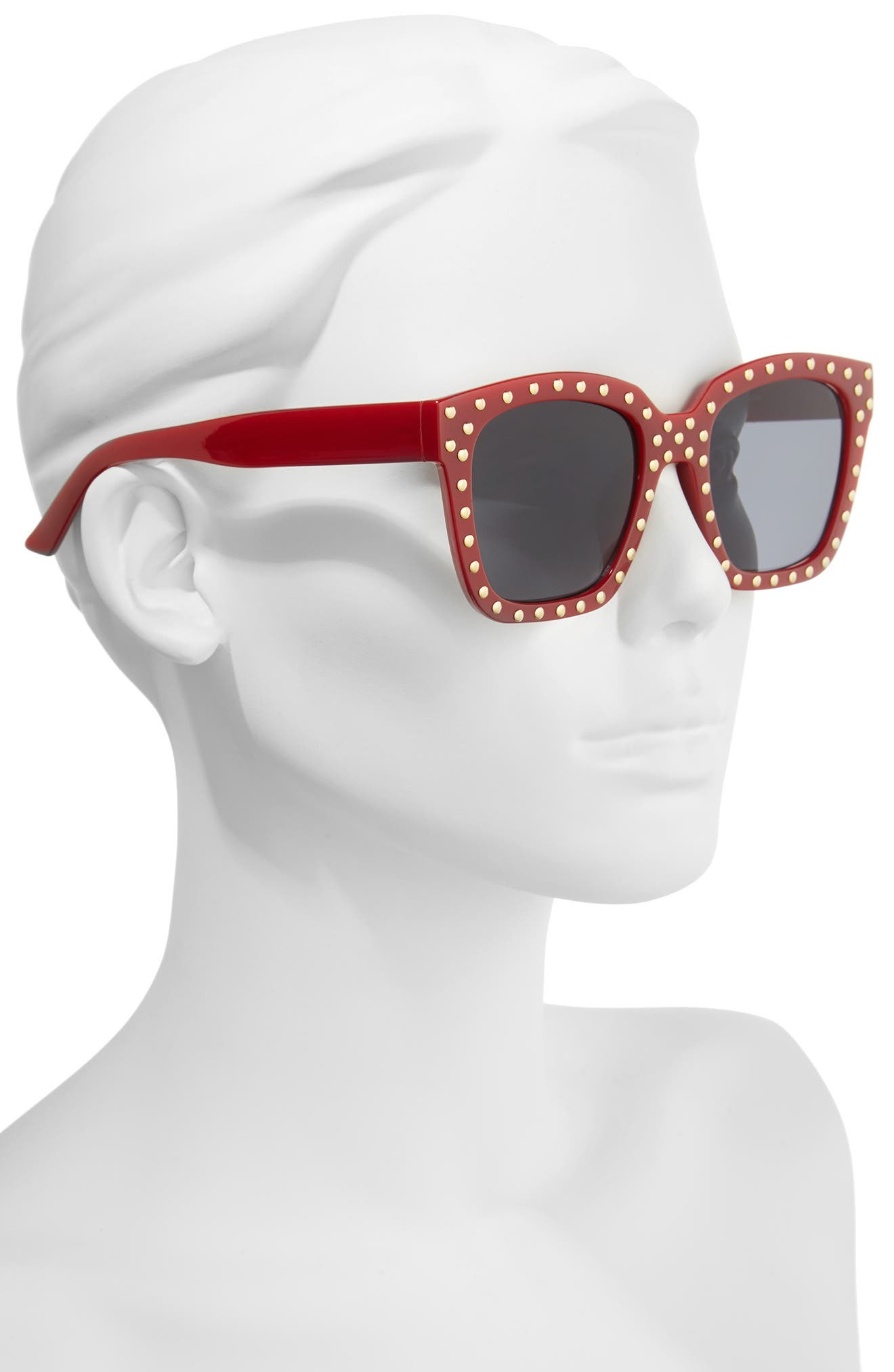 Alternate Image 2  - BP. Studded Square Sunglasses