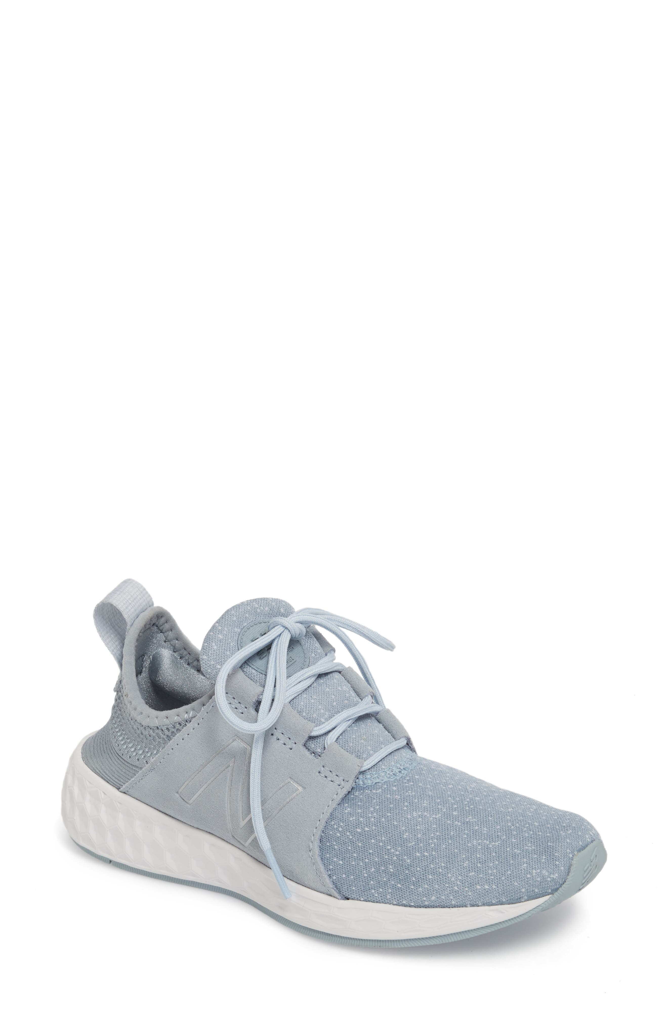 Fresh Foam Cruz Running Shoe,                         Main,                         color, Light Slate