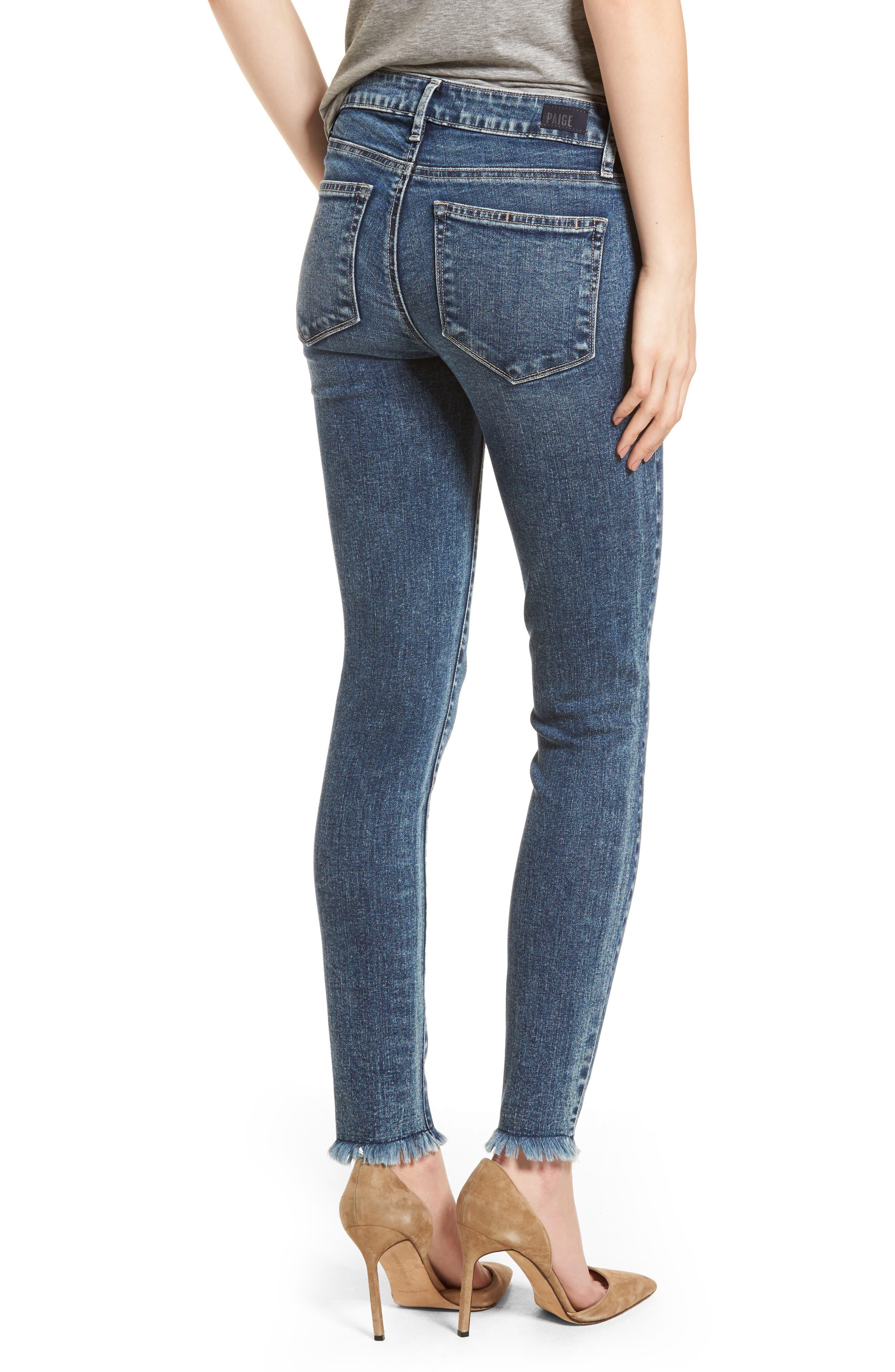 Transcend Vintage - Verdugo Ultra Skinny Jeans,                             Alternate thumbnail 2, color,                             Iness