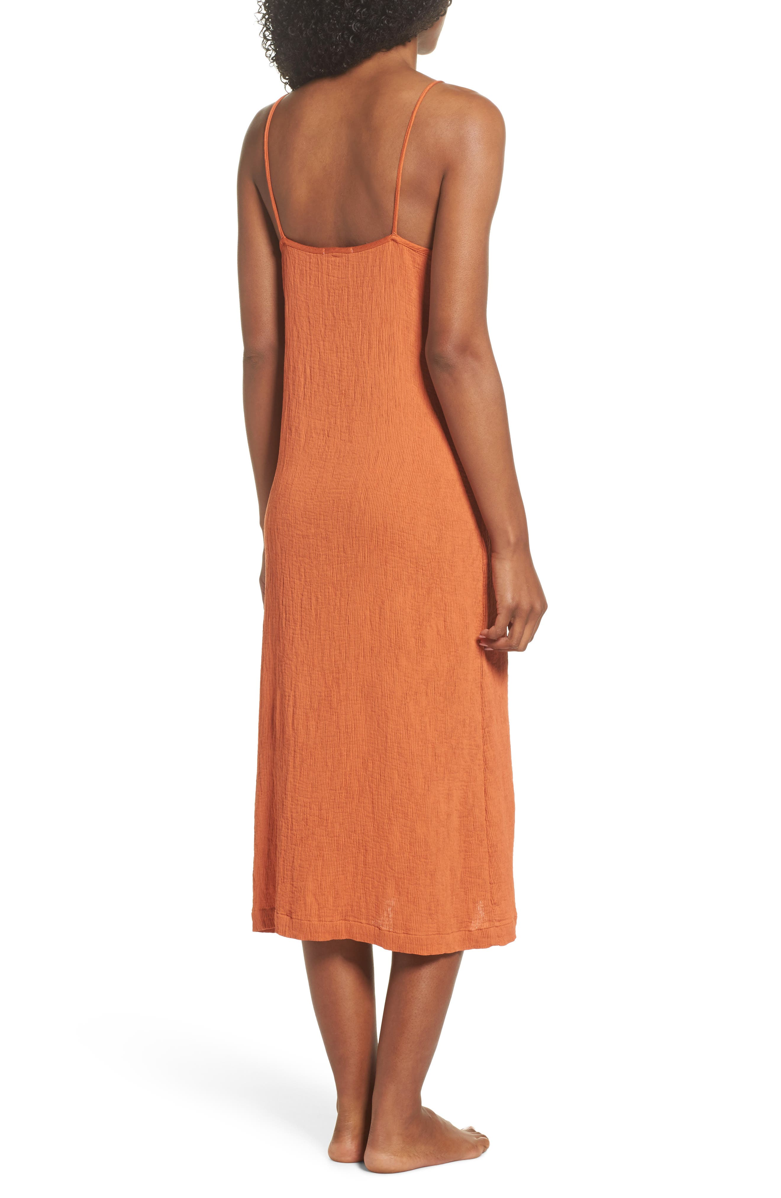 Spice Nightgown,                             Alternate thumbnail 2, color,                             Cayenne