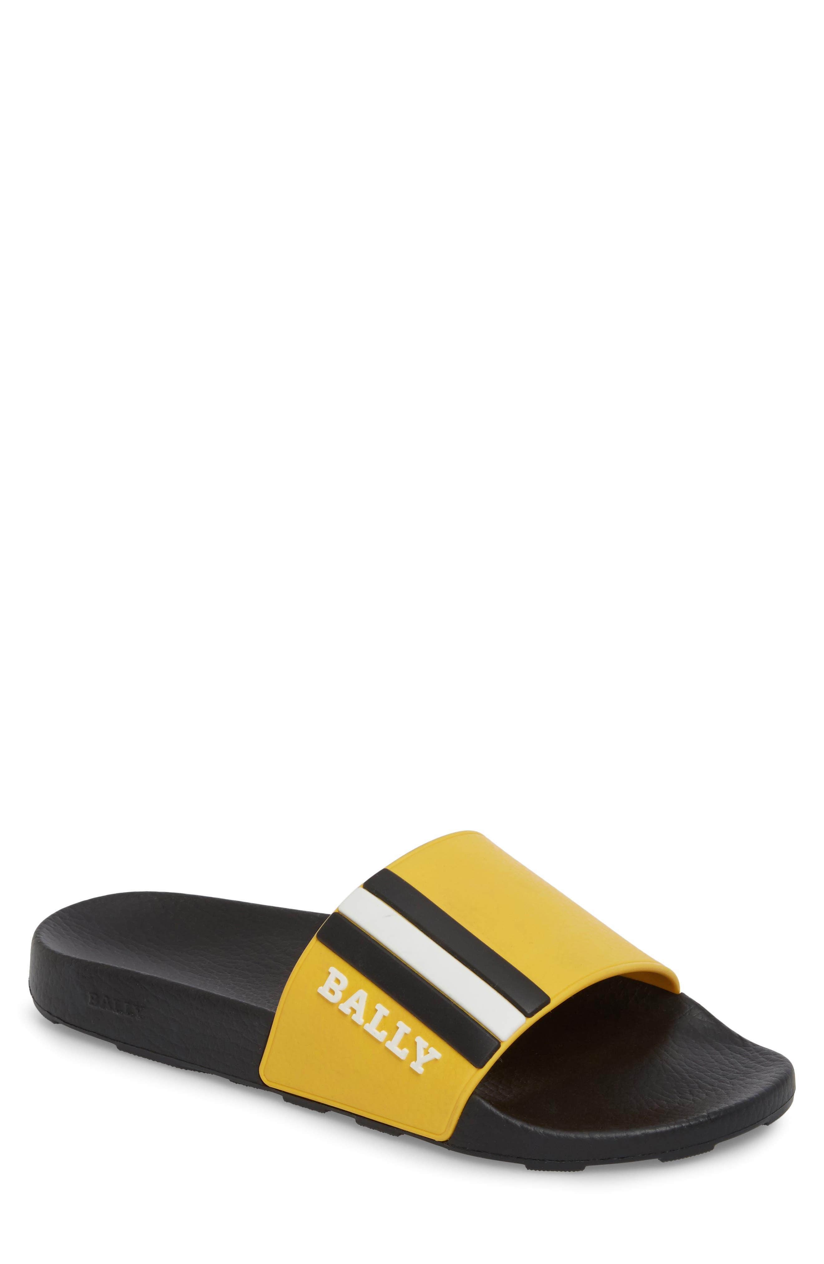Saxor Slide Sandal,                             Main thumbnail 1, color,                             Kodak