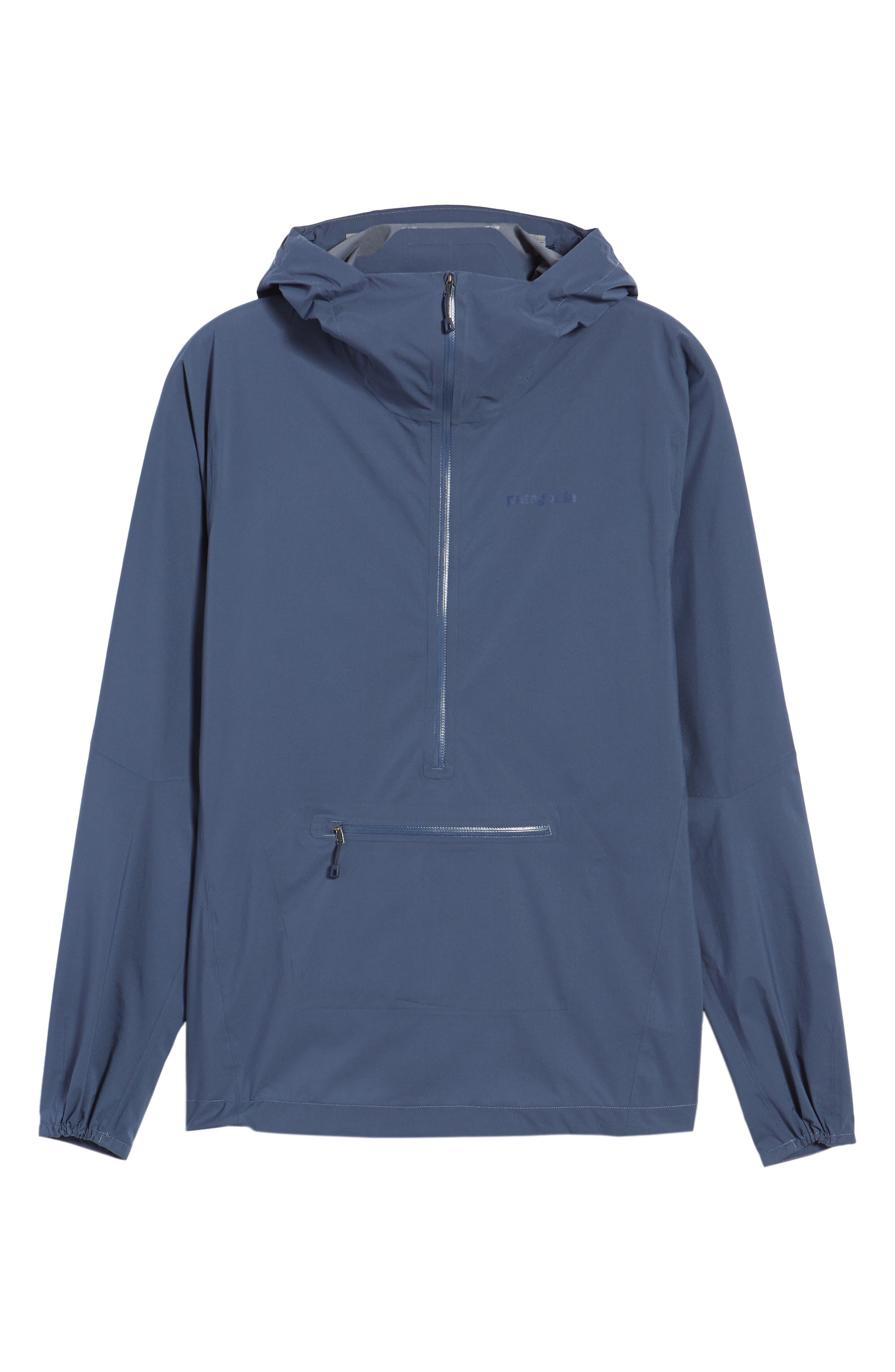 Stretch Rainshadow Jacket,                             Alternate thumbnail 6, color,                             Dolomite Blue