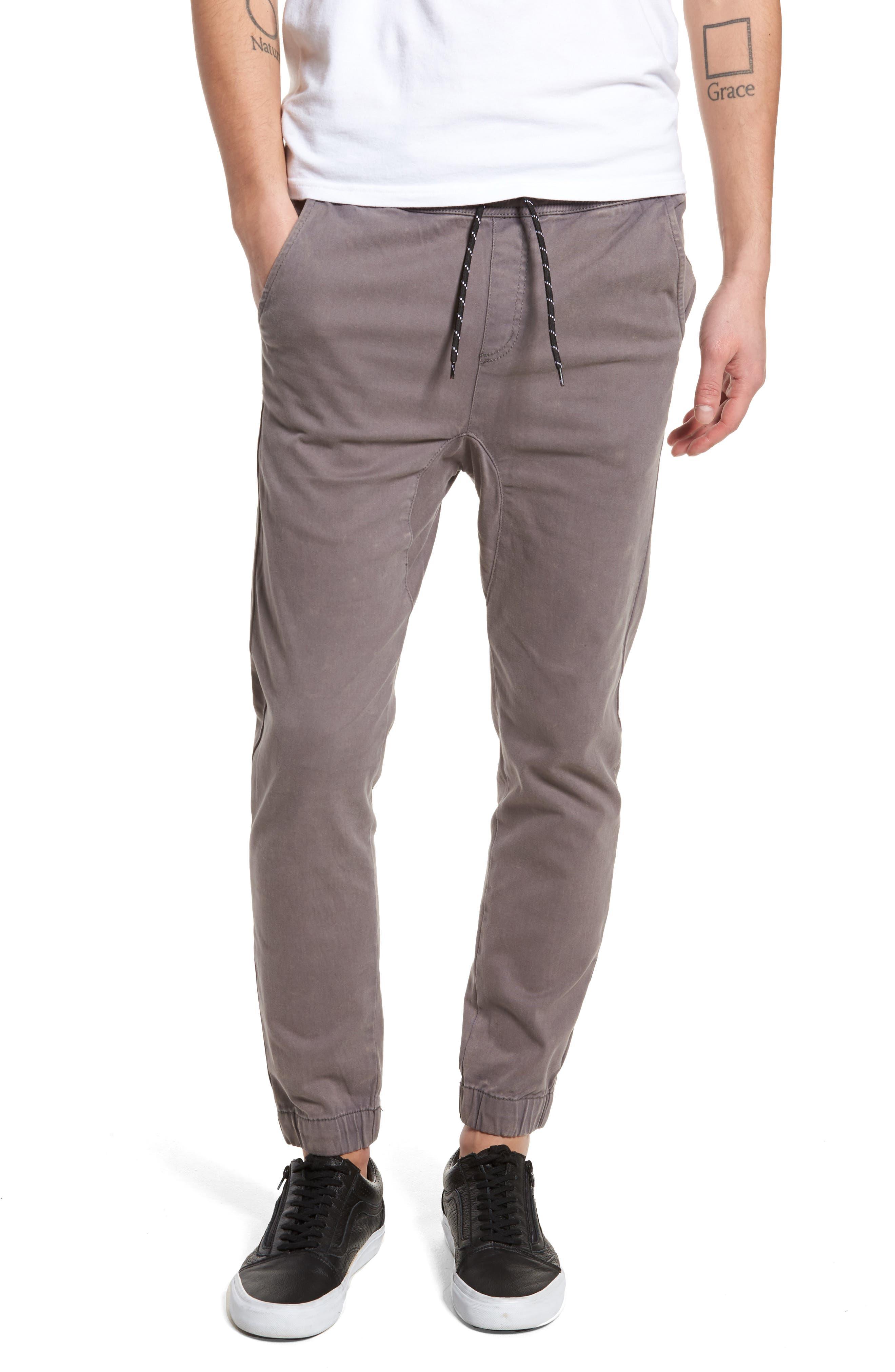 Alvaro Jogger Pants,                         Main,                         color, Charcoal