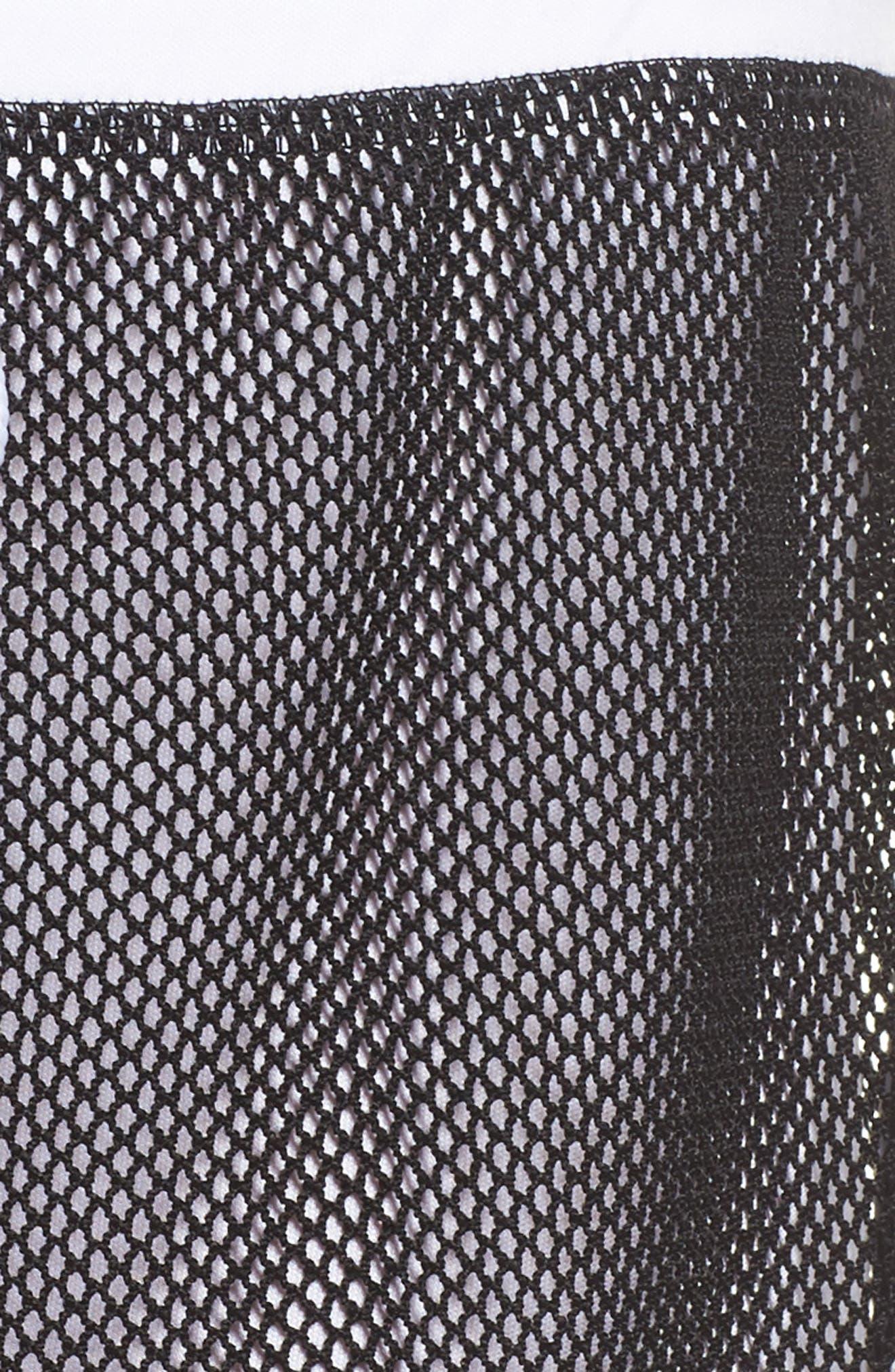 Mesh 2-in-1 Mesh Shorts,                             Alternate thumbnail 5, color,                             White