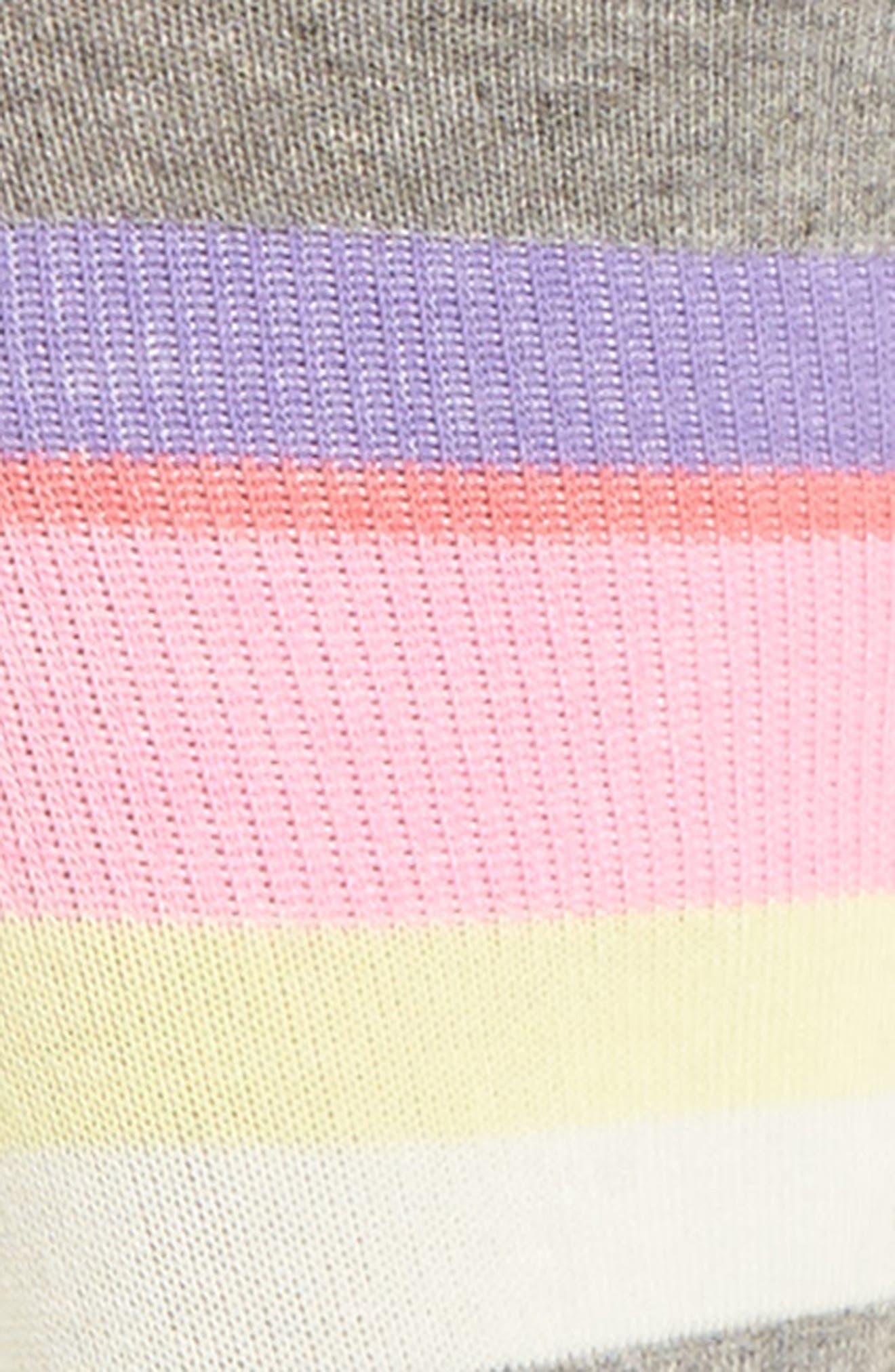 Mega Babe No-Show Socks,                             Alternate thumbnail 2, color,                             Grey