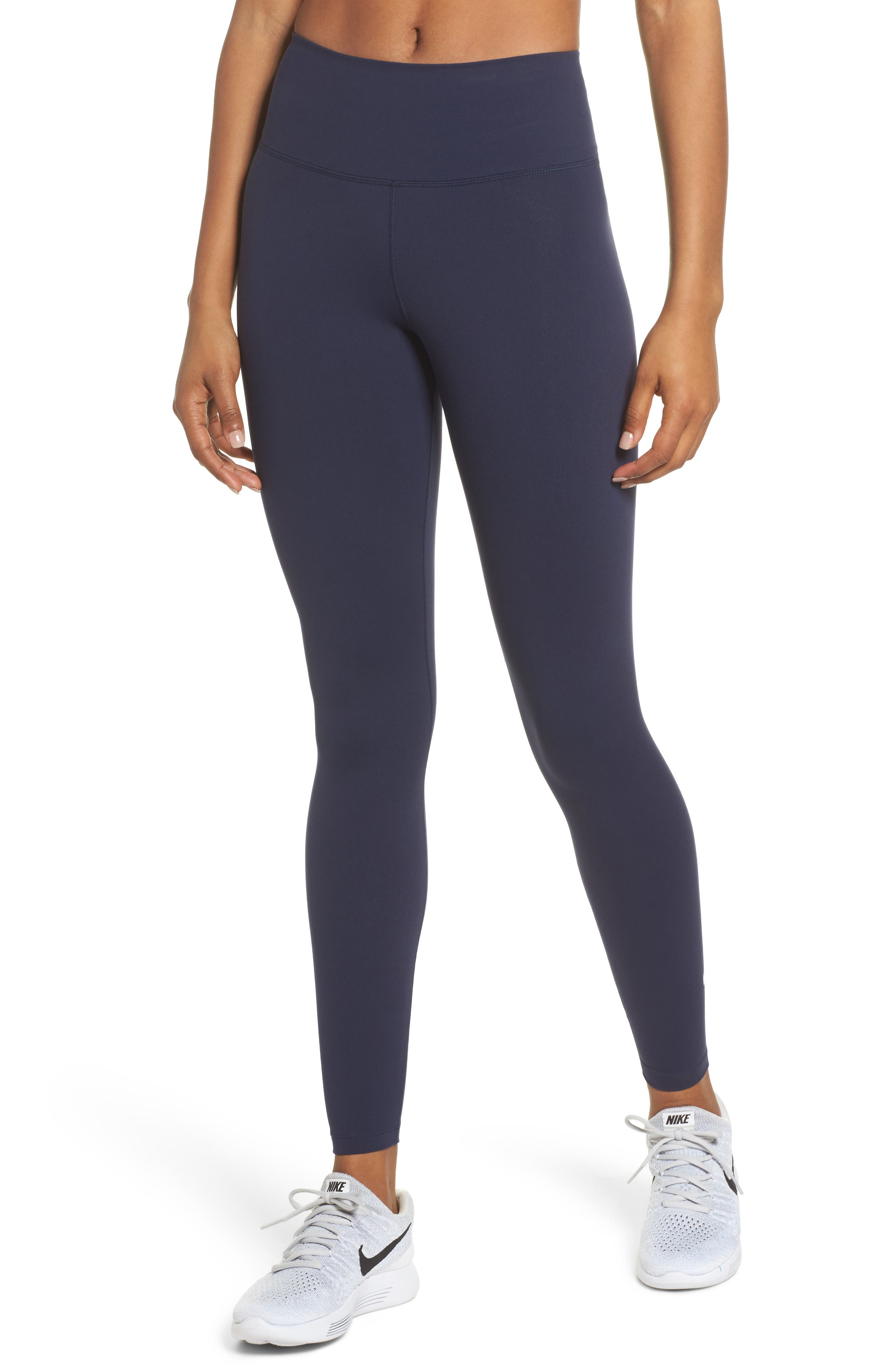Sculpt Lux Training Tights,                         Main,                         color, Obsidian/Clear
