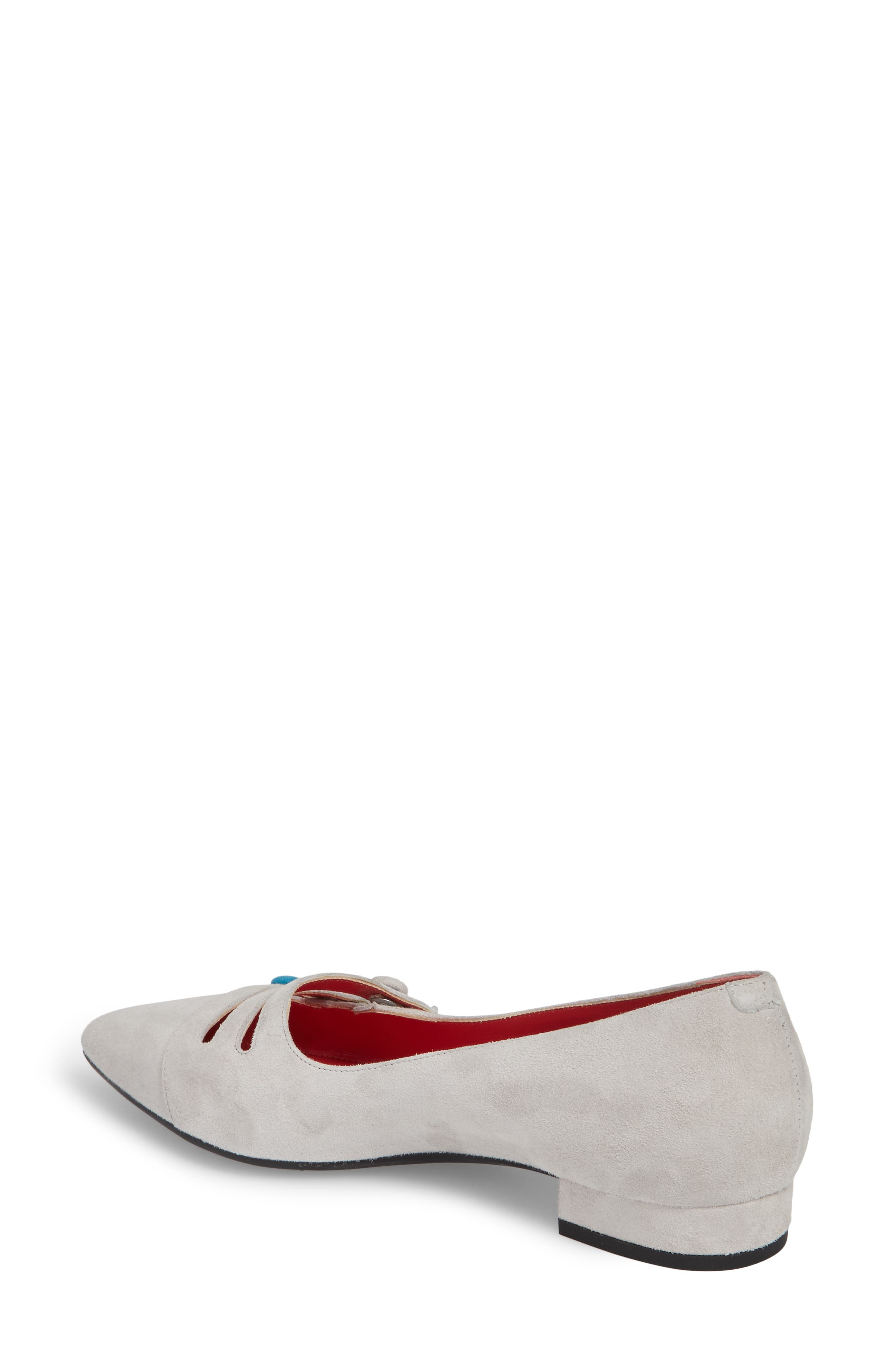 Janet Flat,                             Alternate thumbnail 2, color,                             Sasso Suede