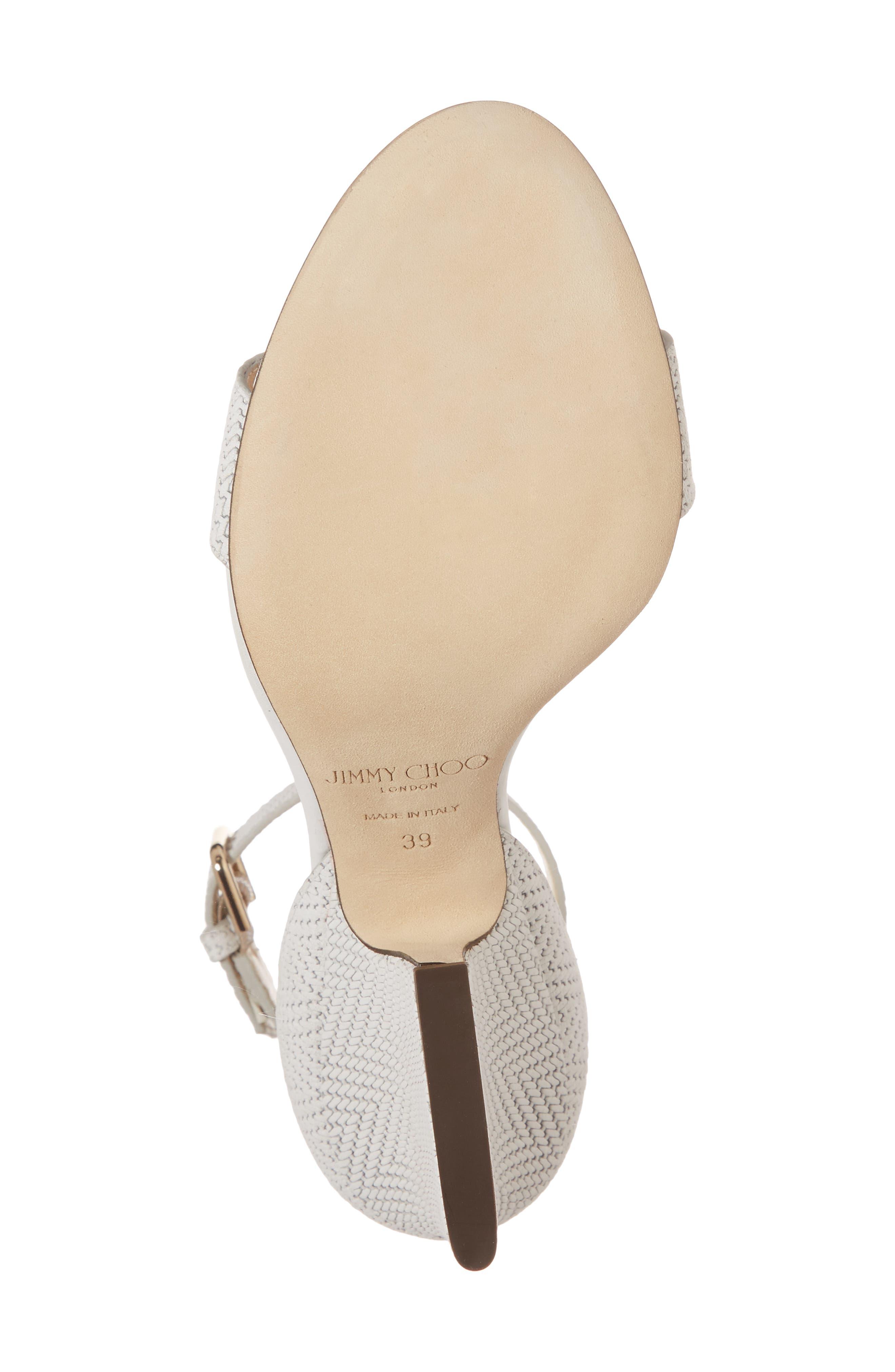 Alternate Image 6  - Jimmy Choo Edina Ankle Strap Sandal (Women)