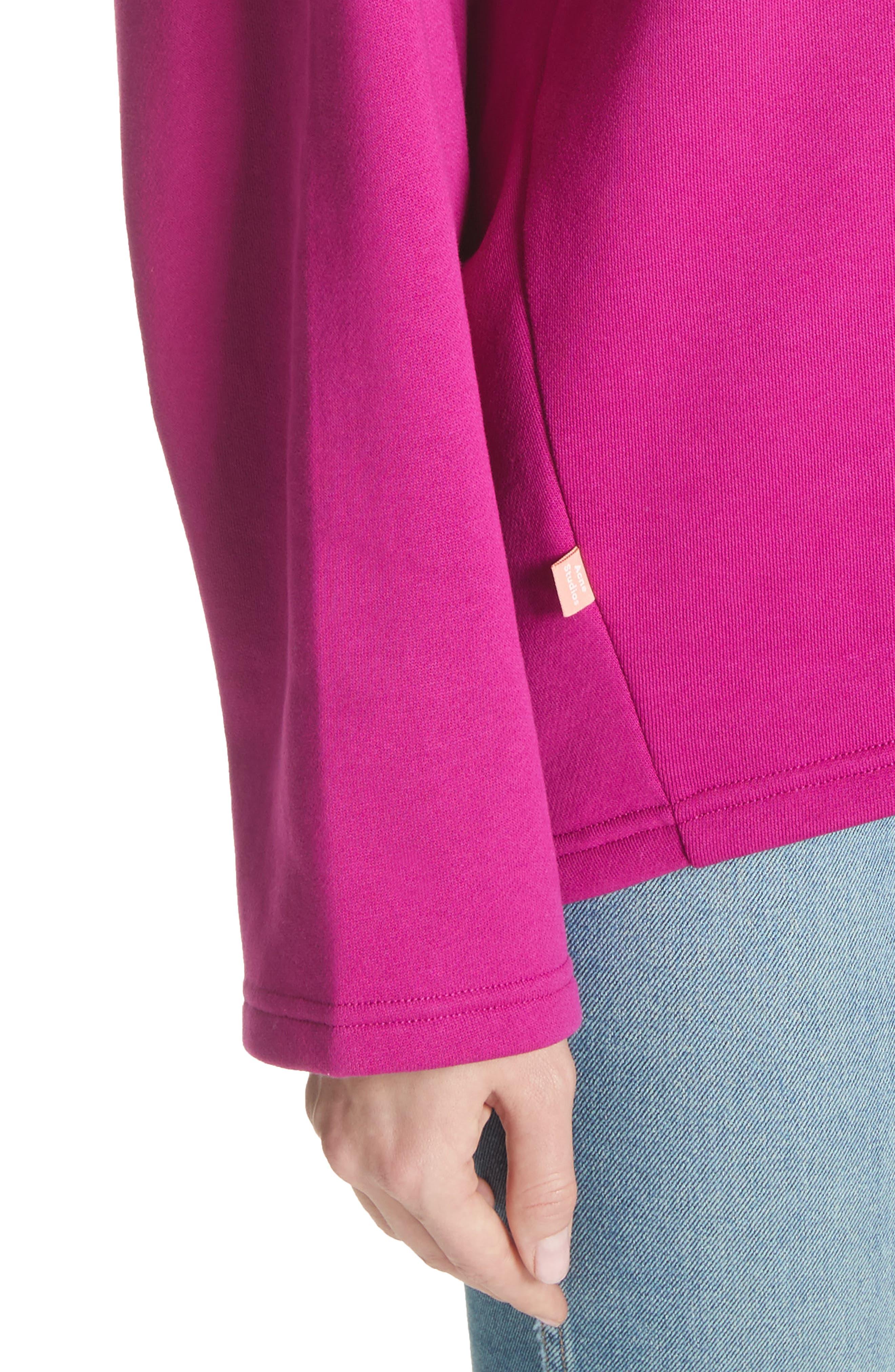 Karvell Sweatshirt,                             Alternate thumbnail 4, color,                             Acid Purple