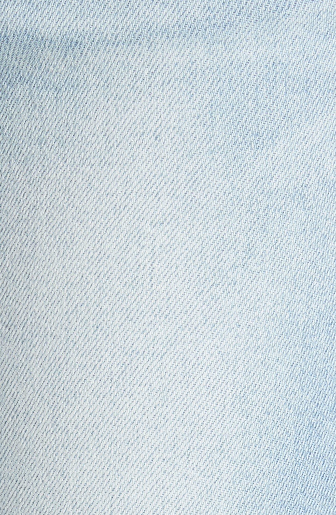 Le Skinny de Jeanne Ankle Jeans,                             Alternate thumbnail 5, color,                             Adeline