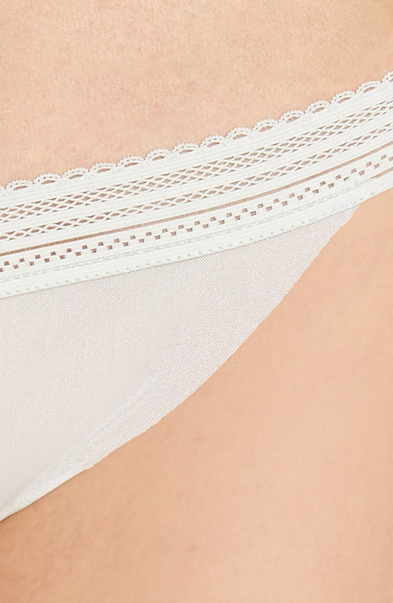 Laced In Aire Thong,                             Alternate thumbnail 6, color,                             Desert Sage