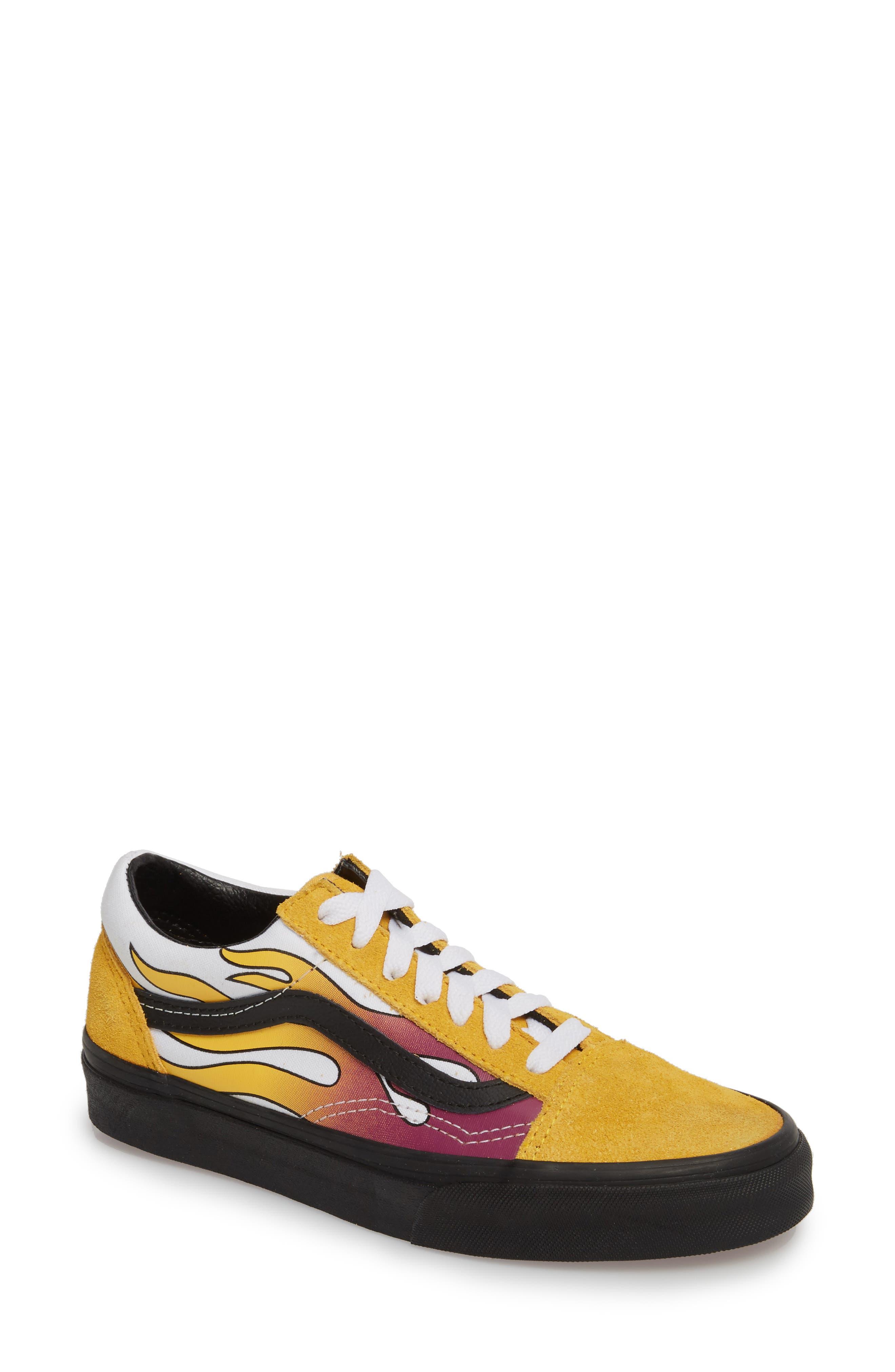 yellow vans womens