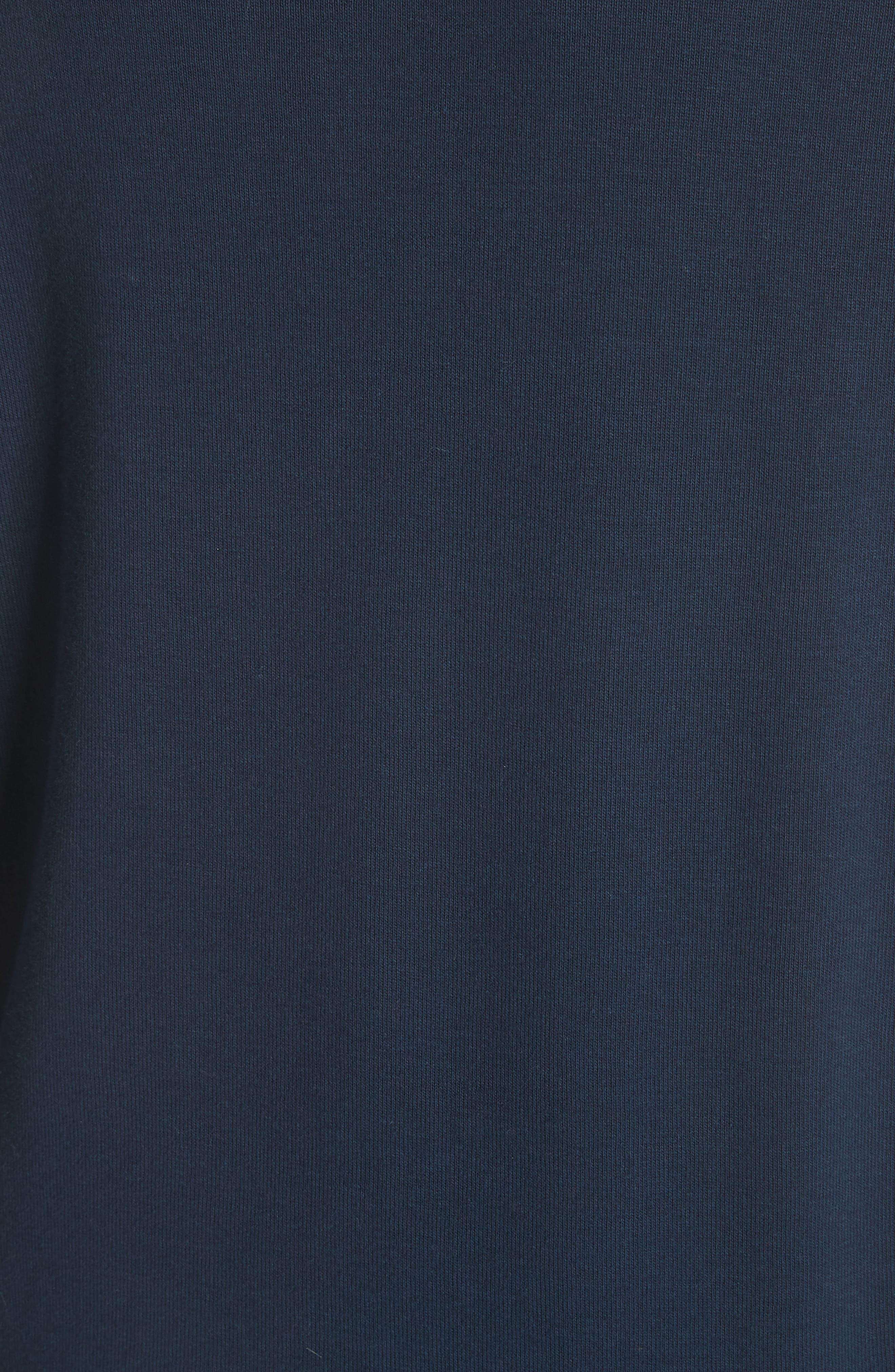 Collegiate Raglan Sweatshirt,                             Alternate thumbnail 5, color,                             Navy