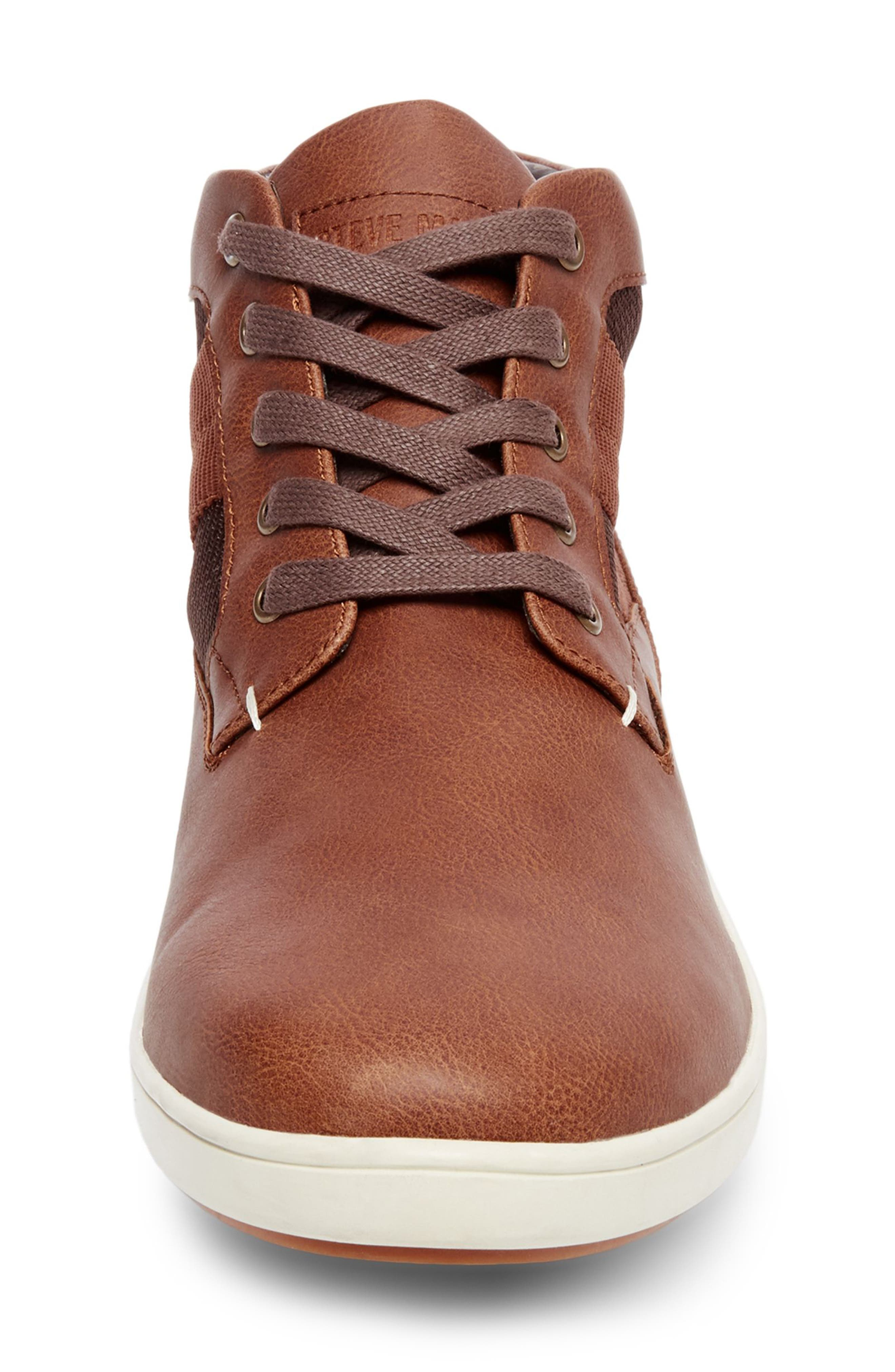 Frazier Sneaker Boot,                             Alternate thumbnail 4, color,                             Cognac