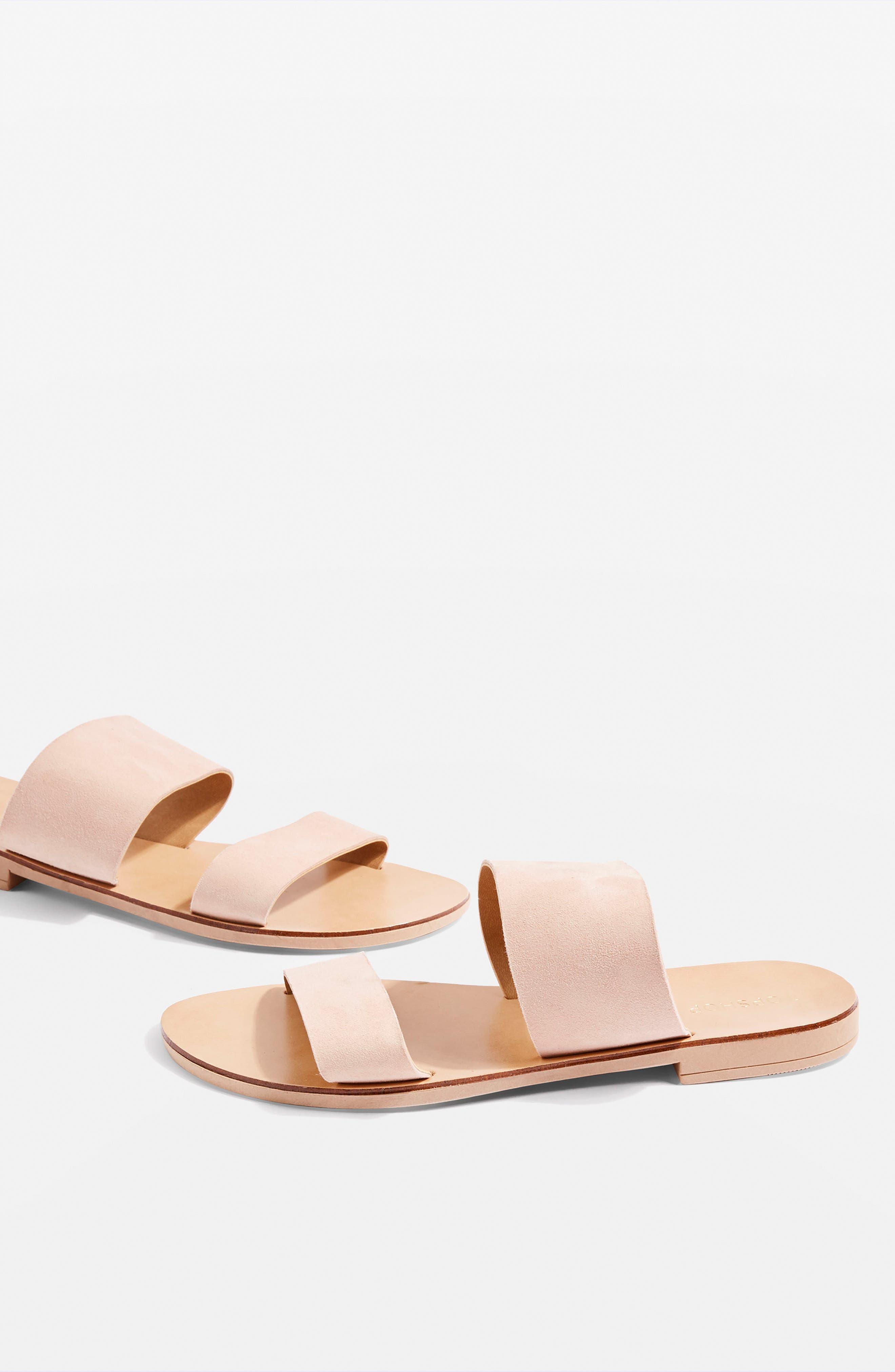 Topshop Happy Suede Sandal (Women)