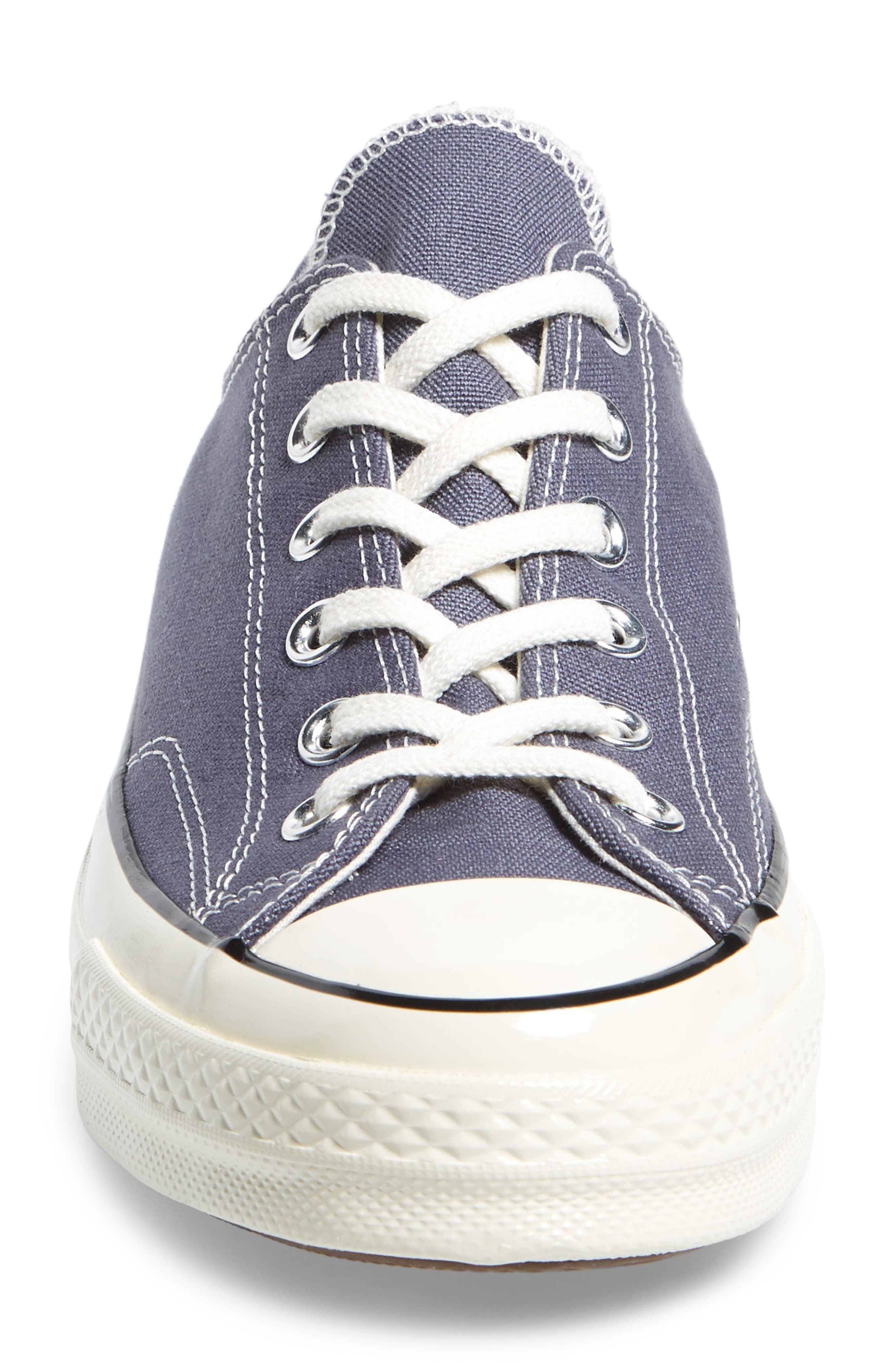 Chuck Taylor<sup>®</sup> All Star<sup>®</sup> 70 Heritage Sneaker,                             Alternate thumbnail 4, color,                             Light Carbon Canvas
