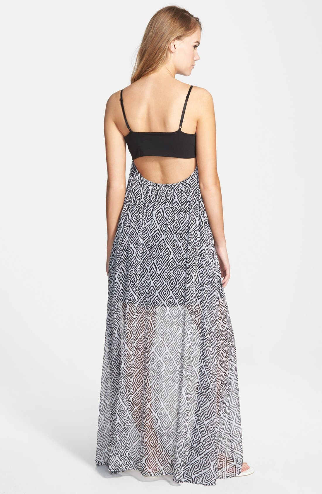 Alternate Image 2  - Volcom 'Playa' Print Maxi Dress