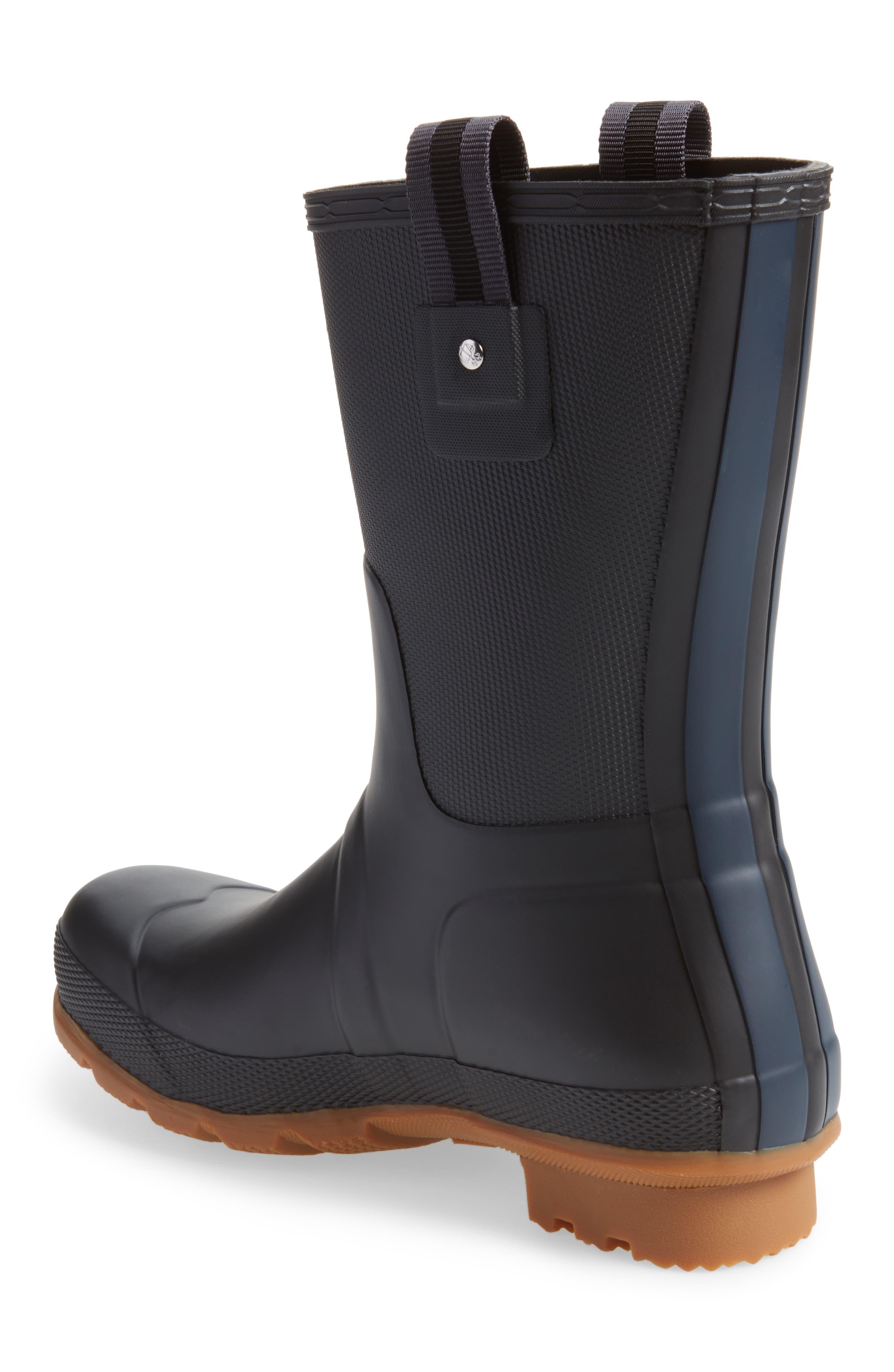 Original Sissinghurst Rain Boot,                             Alternate thumbnail 2, color,                             Black/ Gum