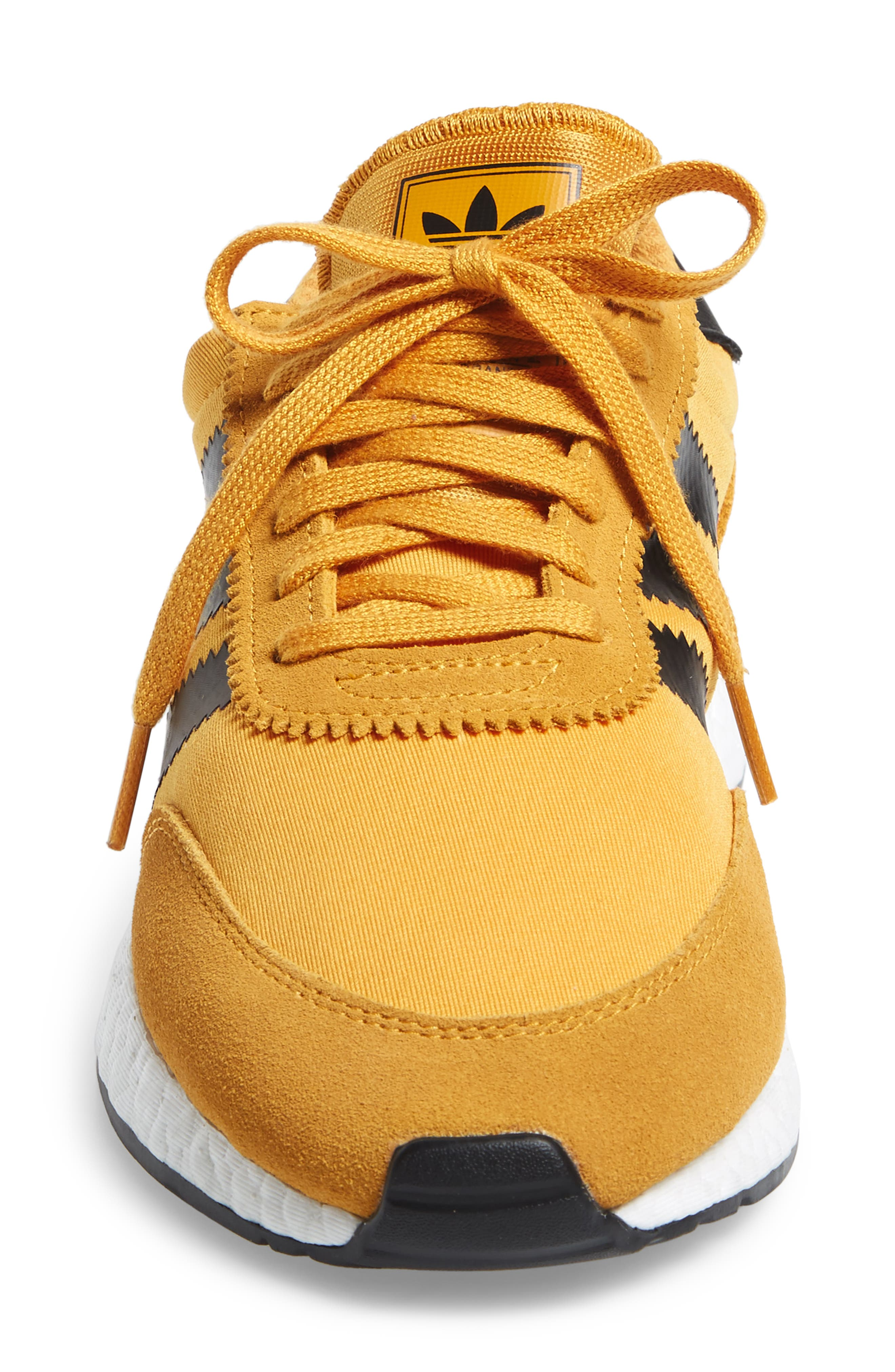 I-5923 Sneaker,                             Alternate thumbnail 4, color,                             Tactile Yellow/ Black/ White