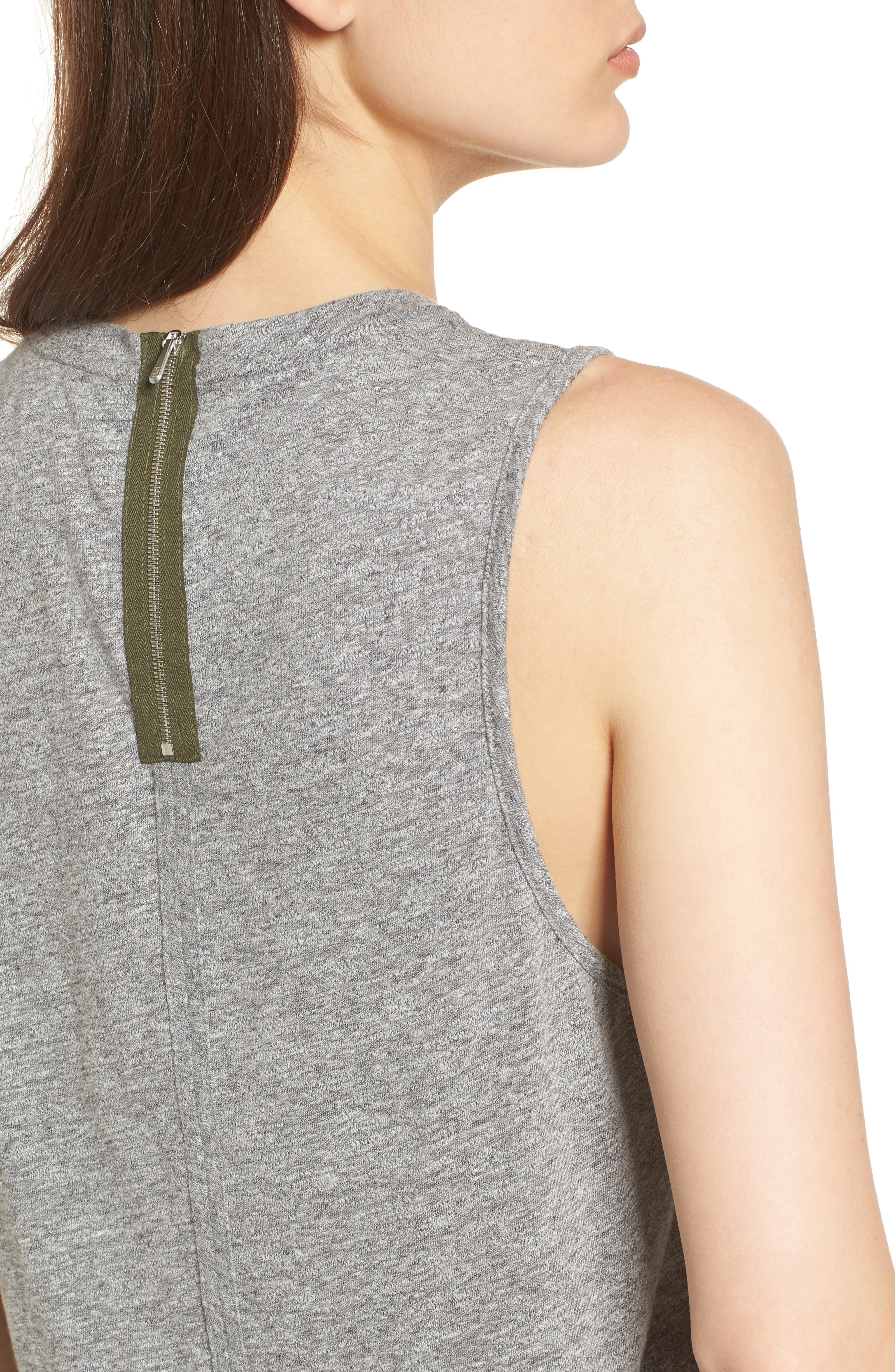 Serena Tank,                             Alternate thumbnail 4, color,                             Speckled Heather Gray