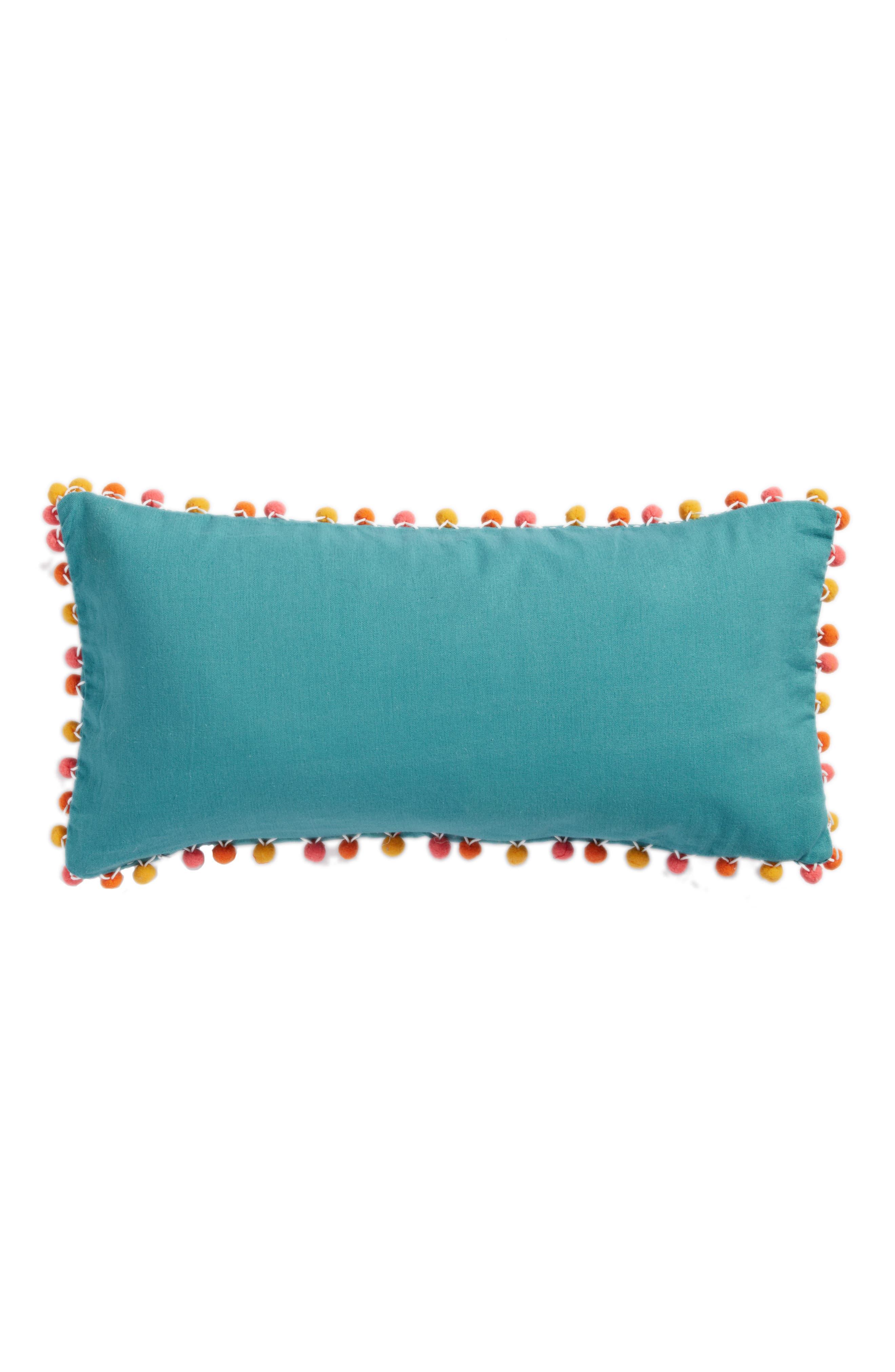Carmen Staycation Accent Pillow,                             Alternate thumbnail 3, color,                             Blue