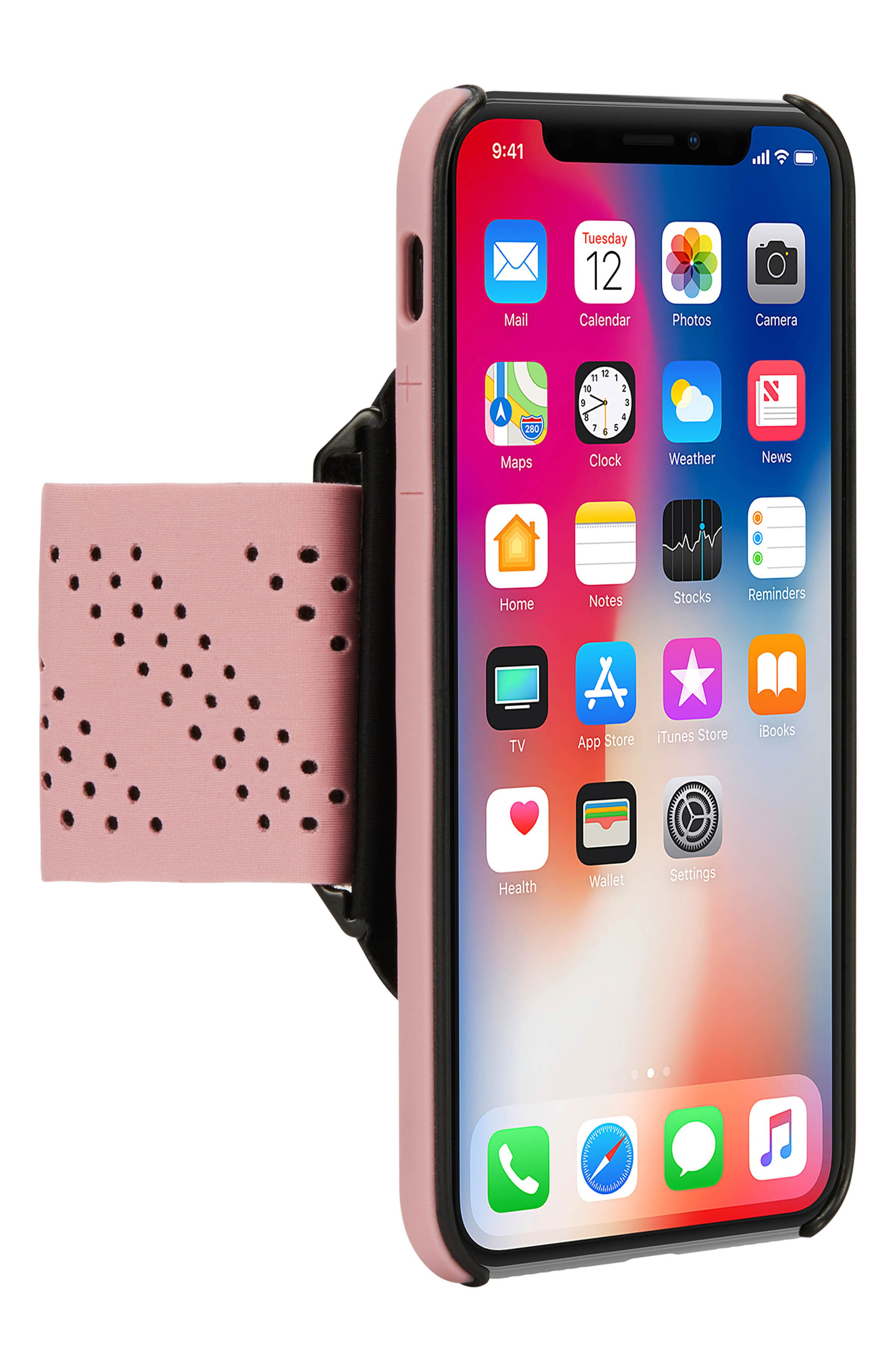 Pro iPhone X Armband,                             Main thumbnail 1, color,                             Mauve
