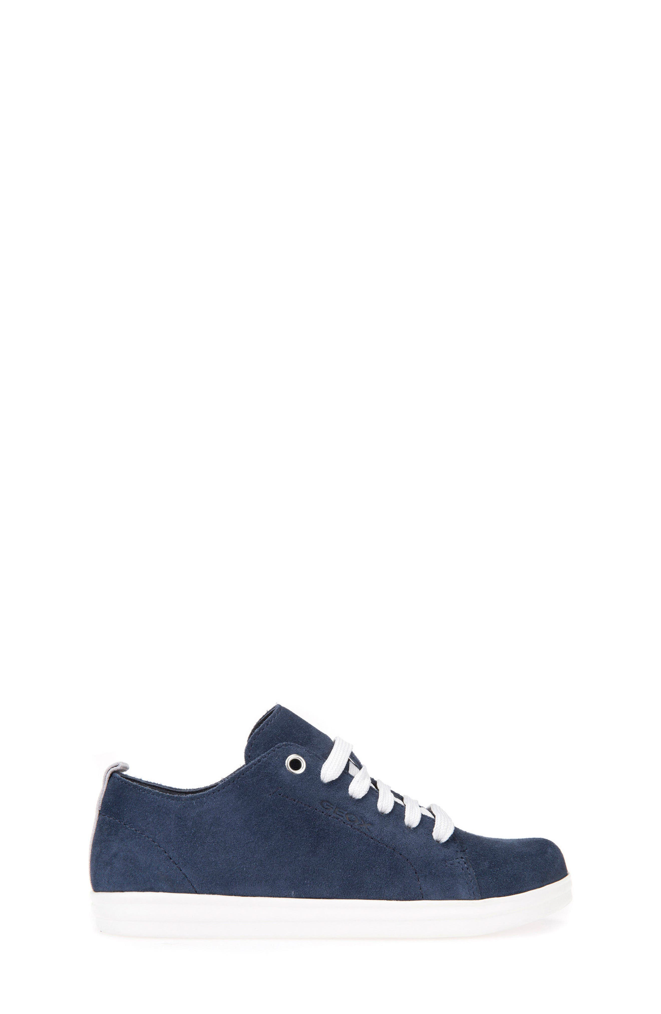 Anthor Low Top Sneaker,                             Alternate thumbnail 3, color,                             Navy