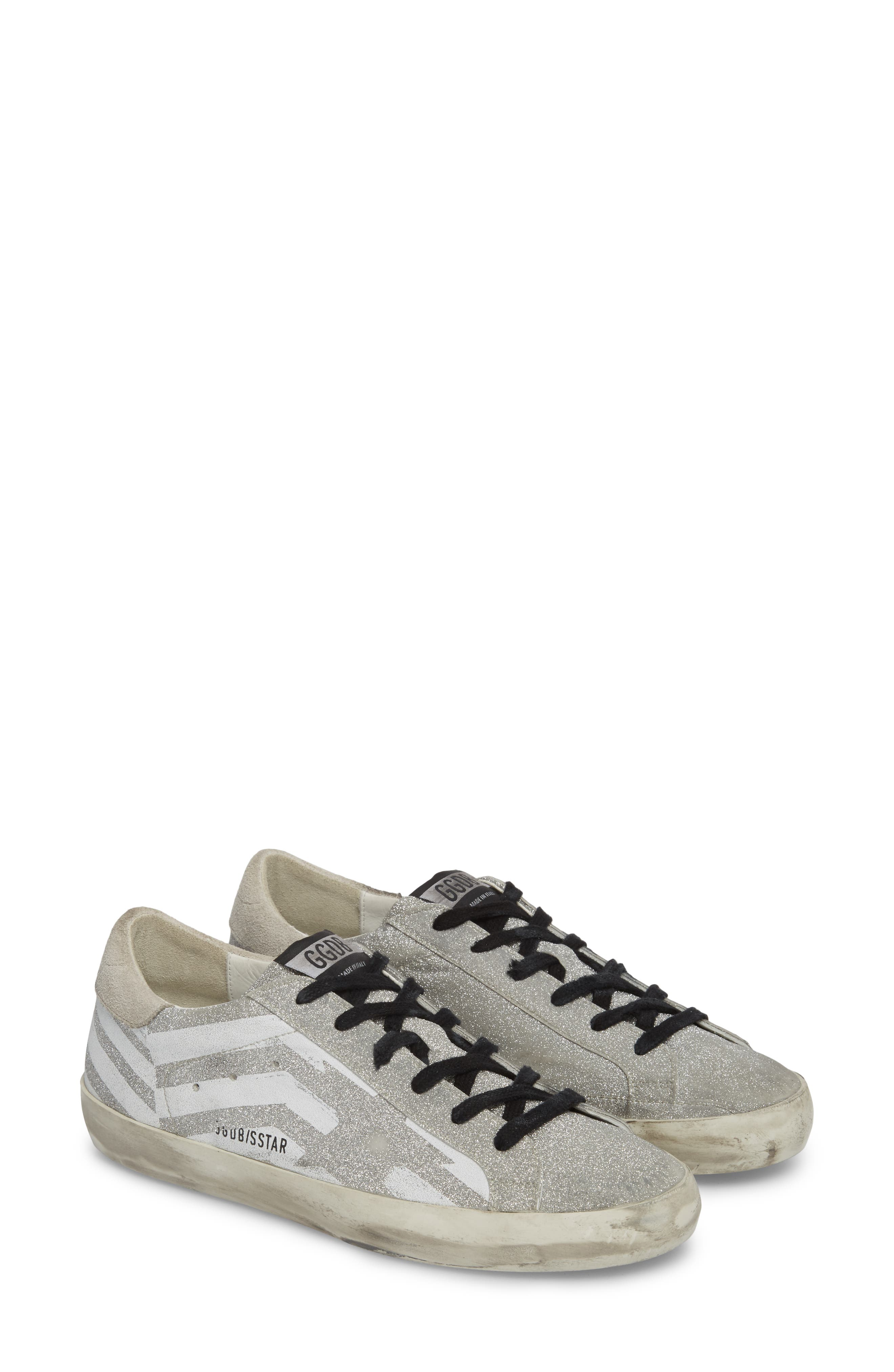 Superstar Low Top Sneaker,                         Main,                         color, Grey/ White