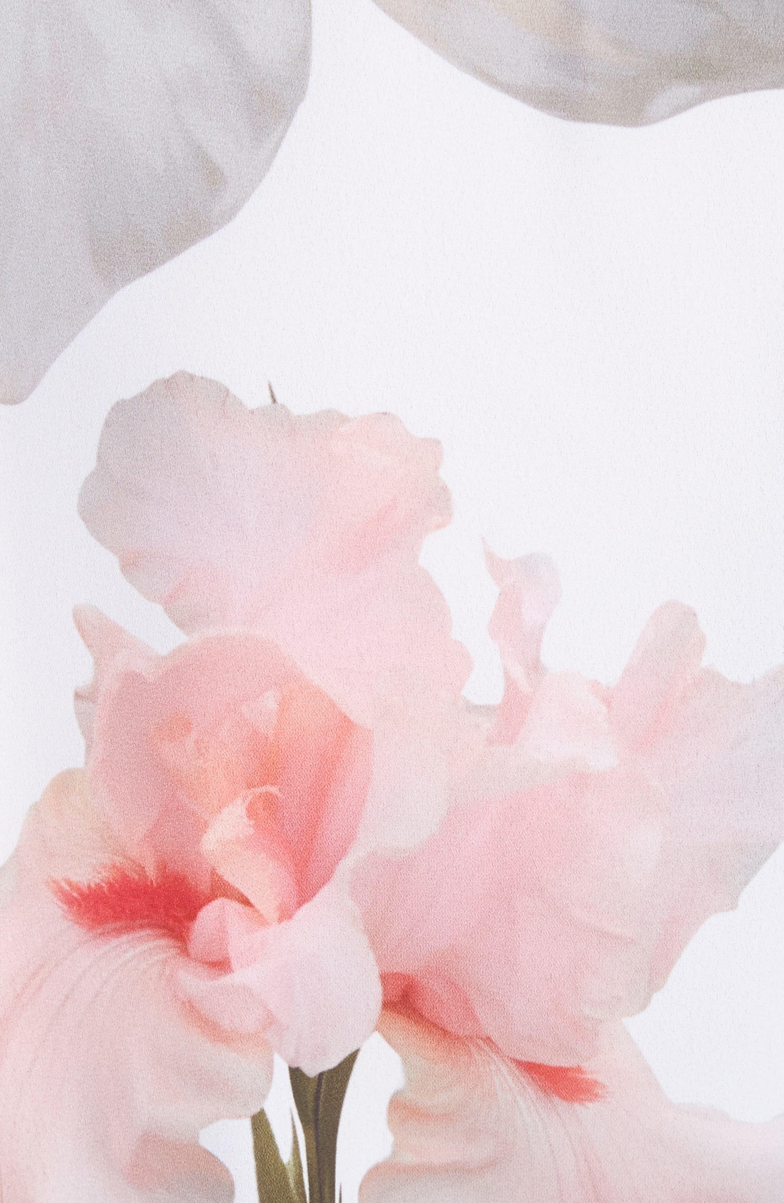 Chatsworth Bloom Shirt,                             Alternate thumbnail 5, color,                             White