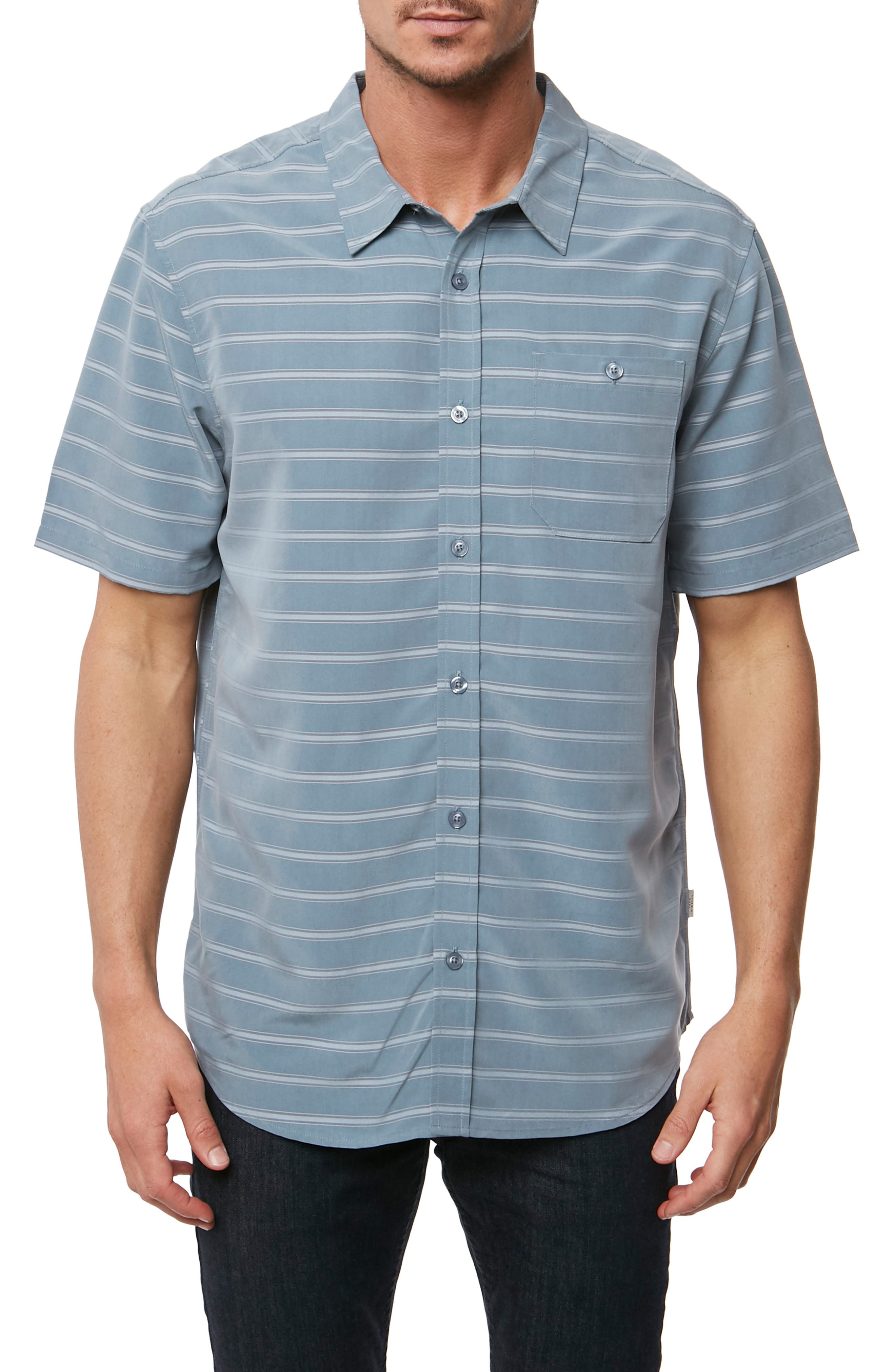 Slow Ride Sport Shirt,                         Main,                         color, Blue