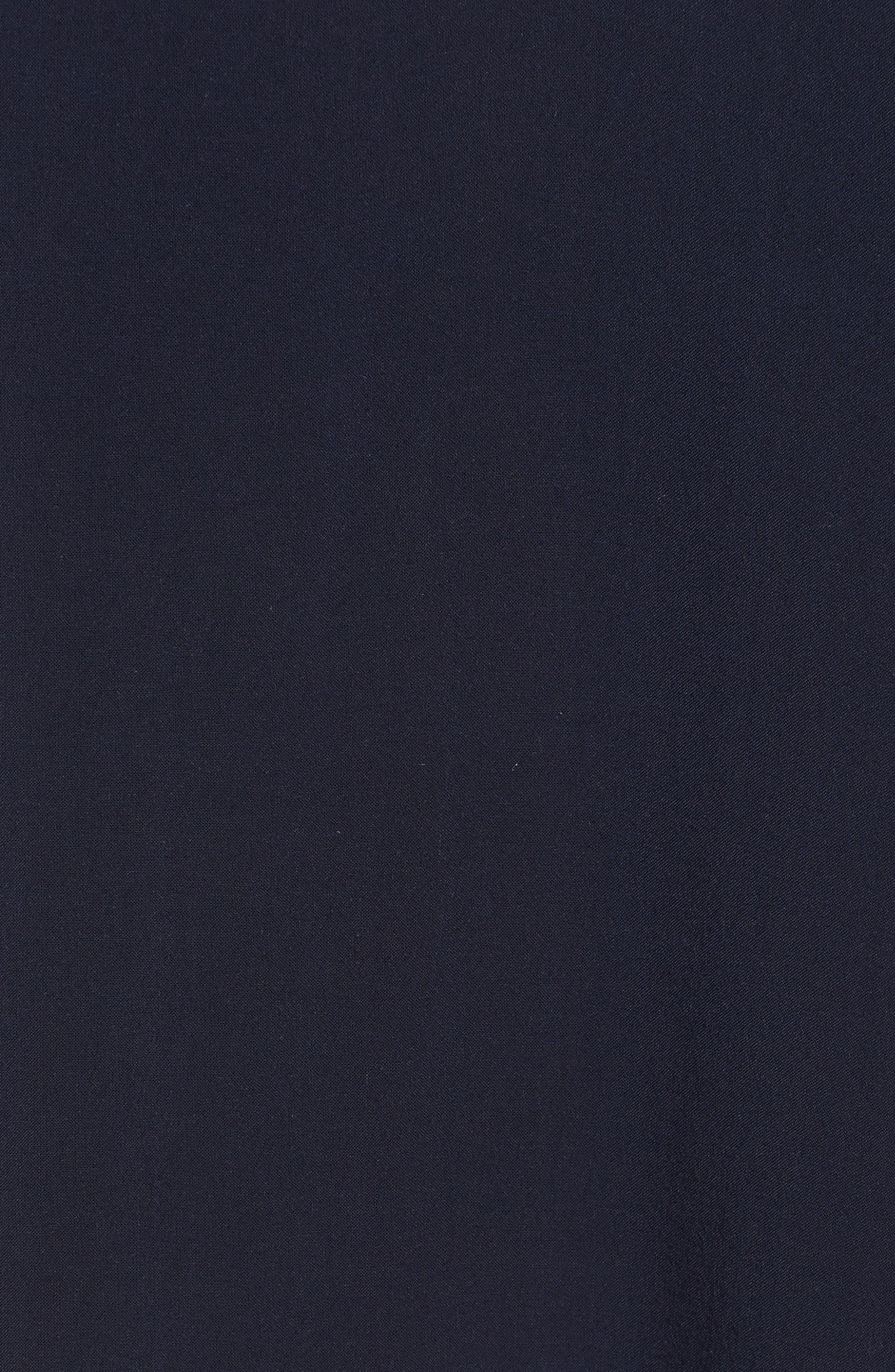 Challis Peasant Sleeve Blouse,                             Alternate thumbnail 5, color,                             Postmate