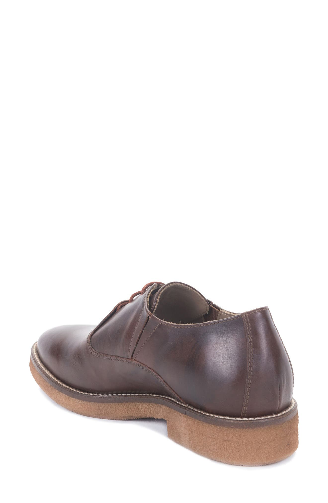 Molinella Water-Resistant Oxford,                             Alternate thumbnail 2, color,                             Ruggine Leather