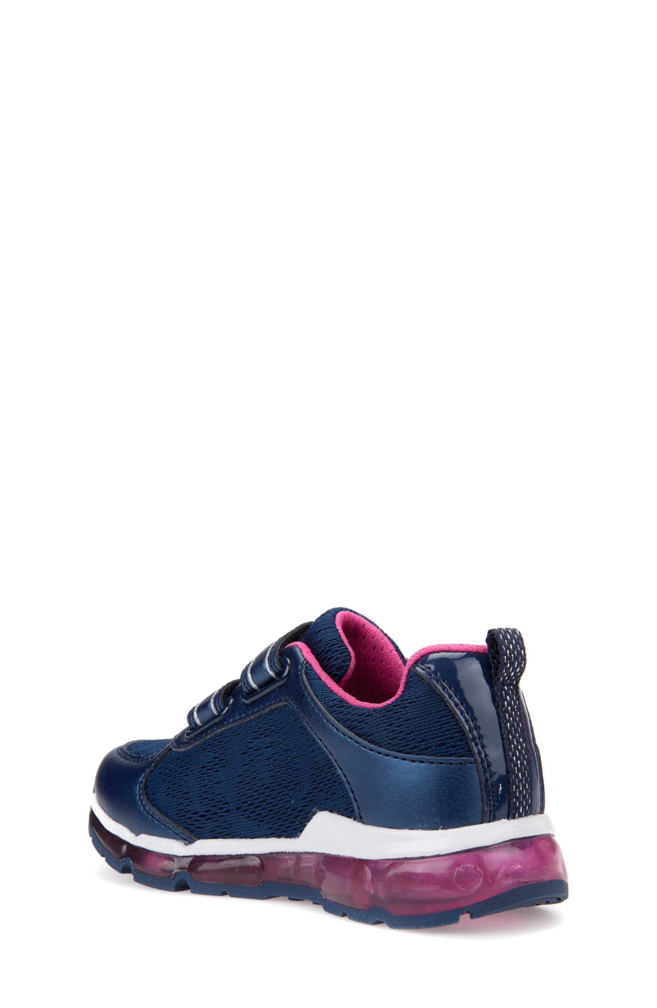 Android Light-Up Sneaker,                             Alternate thumbnail 2, color,                             Navy/ Fuchsia
