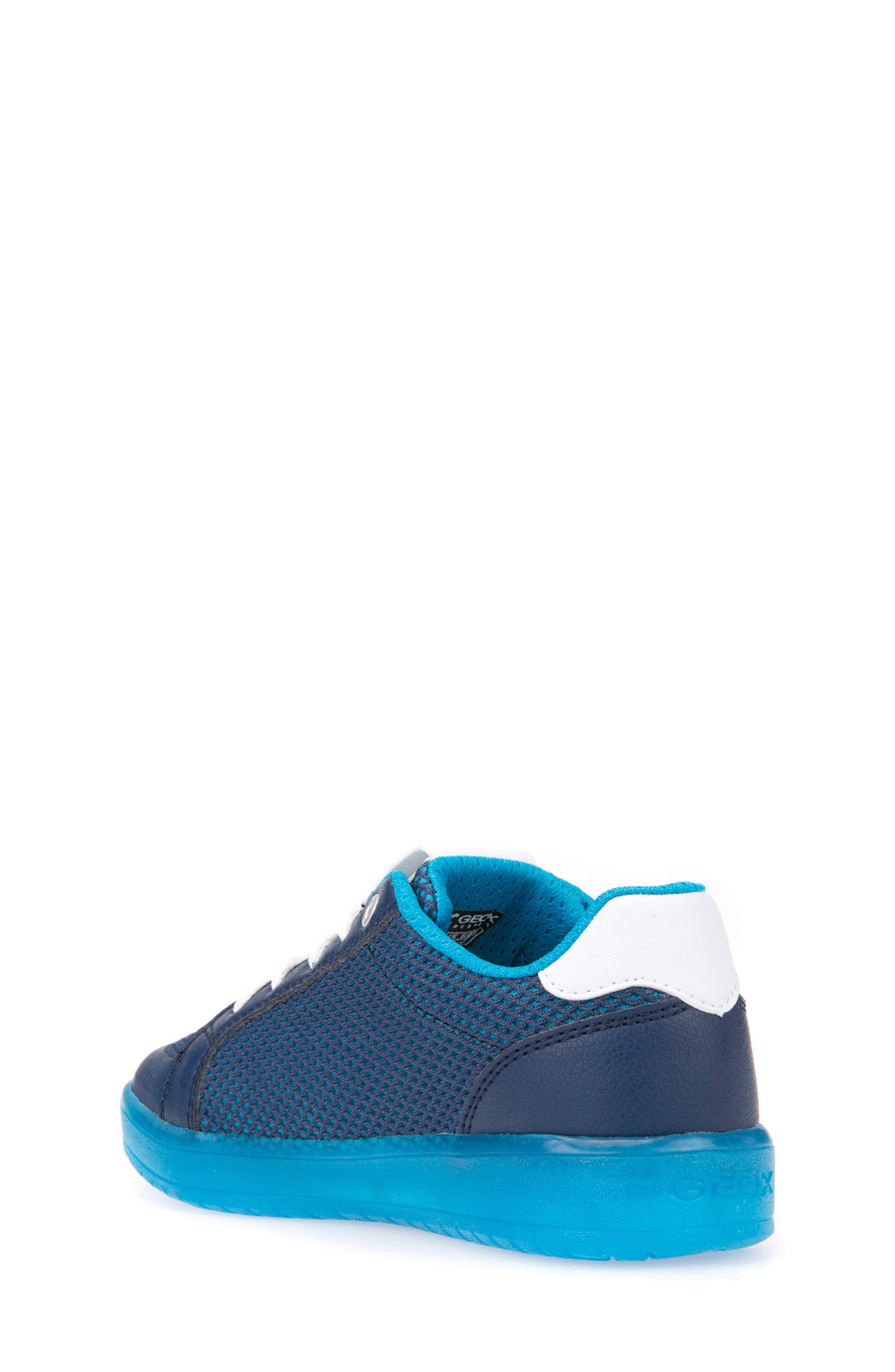 Kommodor Light-Up Mesh Sneaker,                             Alternate thumbnail 2, color,                             Navy/ Light Blue