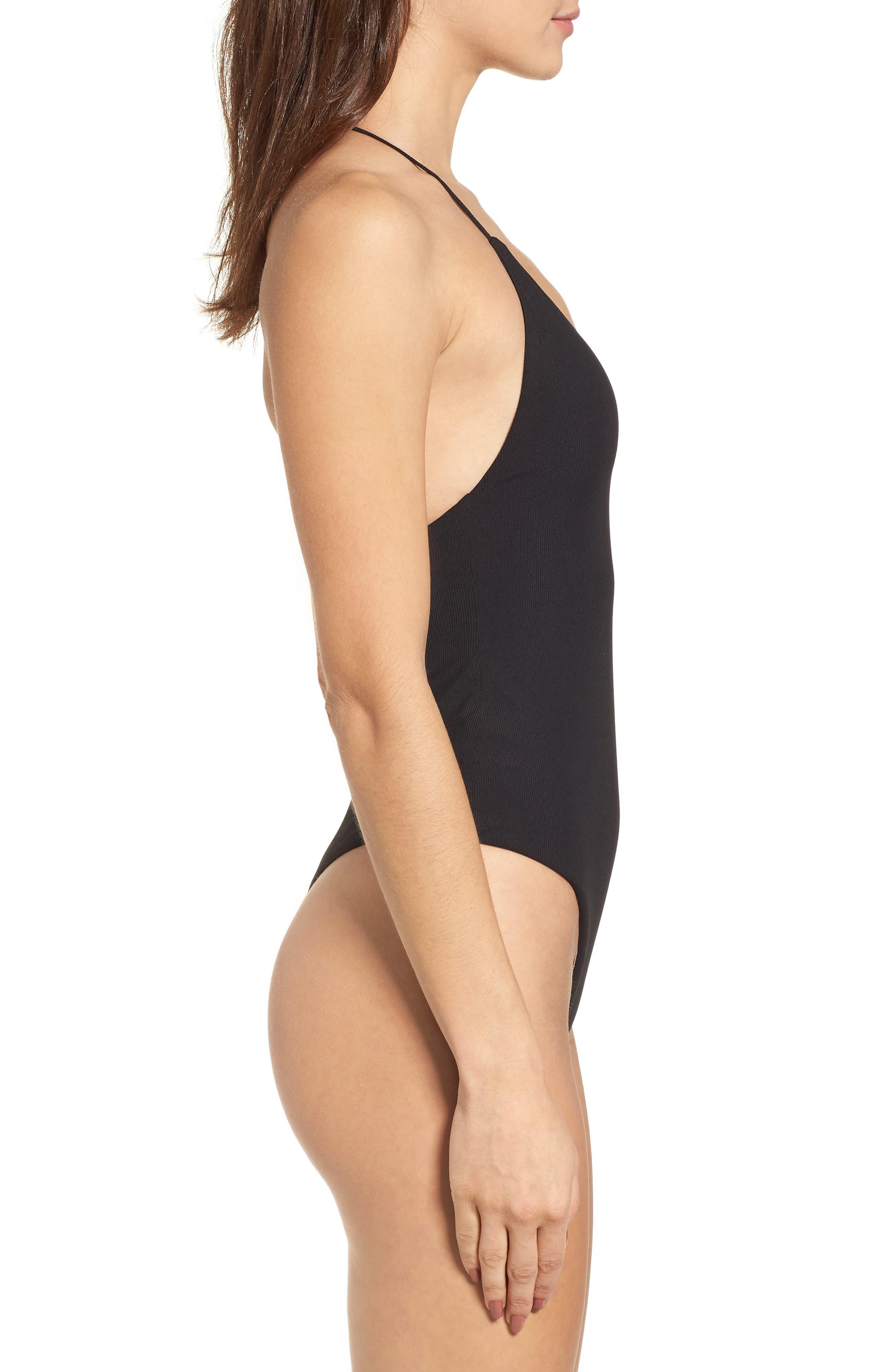 Alternate Image 4  - AFRM Strappy Thong Bodysuit