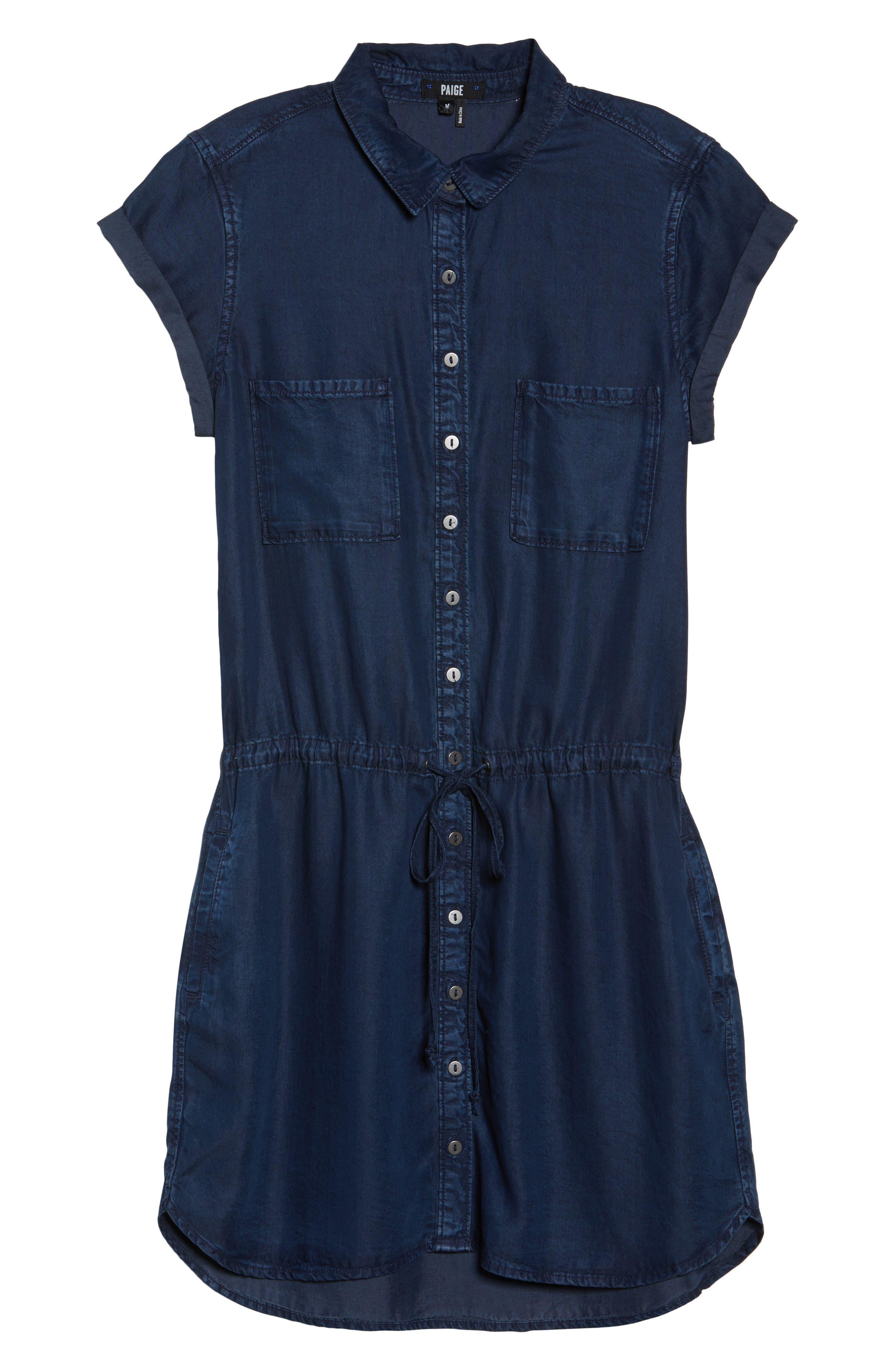 Alternate Image 6  - PAIGE Mila Shirtdress