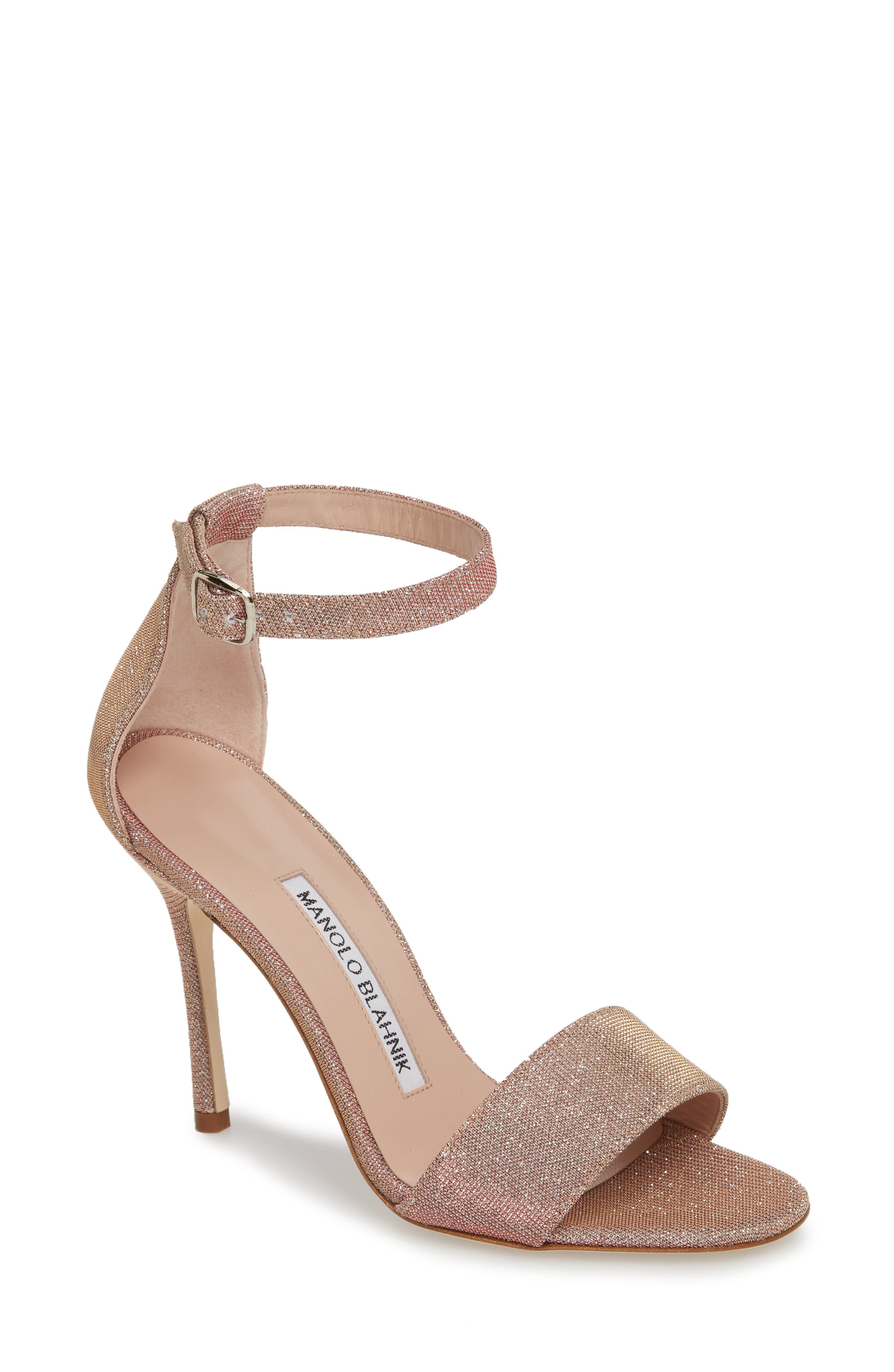 Tres Ankle Strap Sandal,                             Main thumbnail 1, color,                             Champagne Notturno
