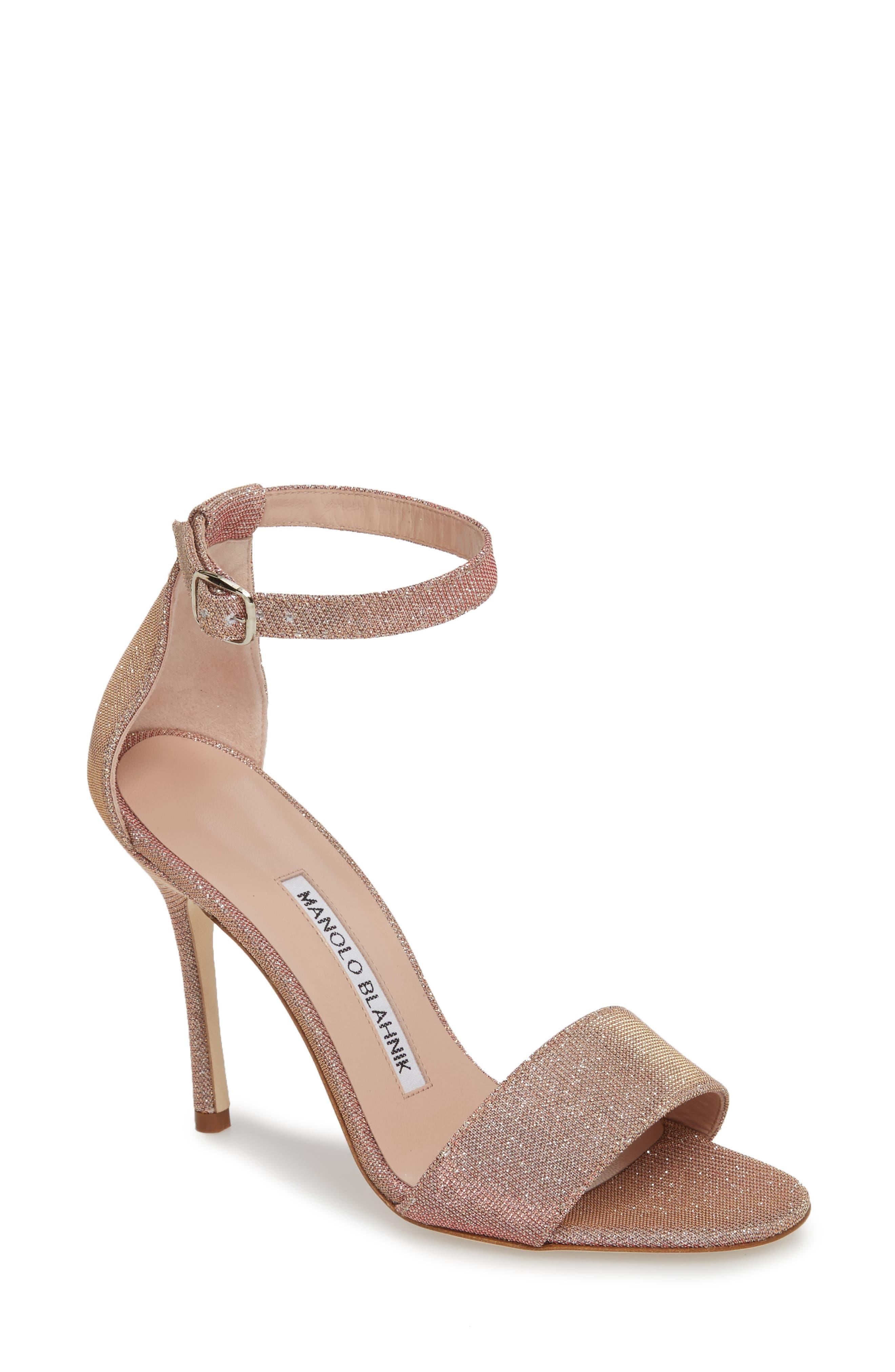 Tres Ankle Strap Sandal,                         Main,                         color, Champagne Notturno