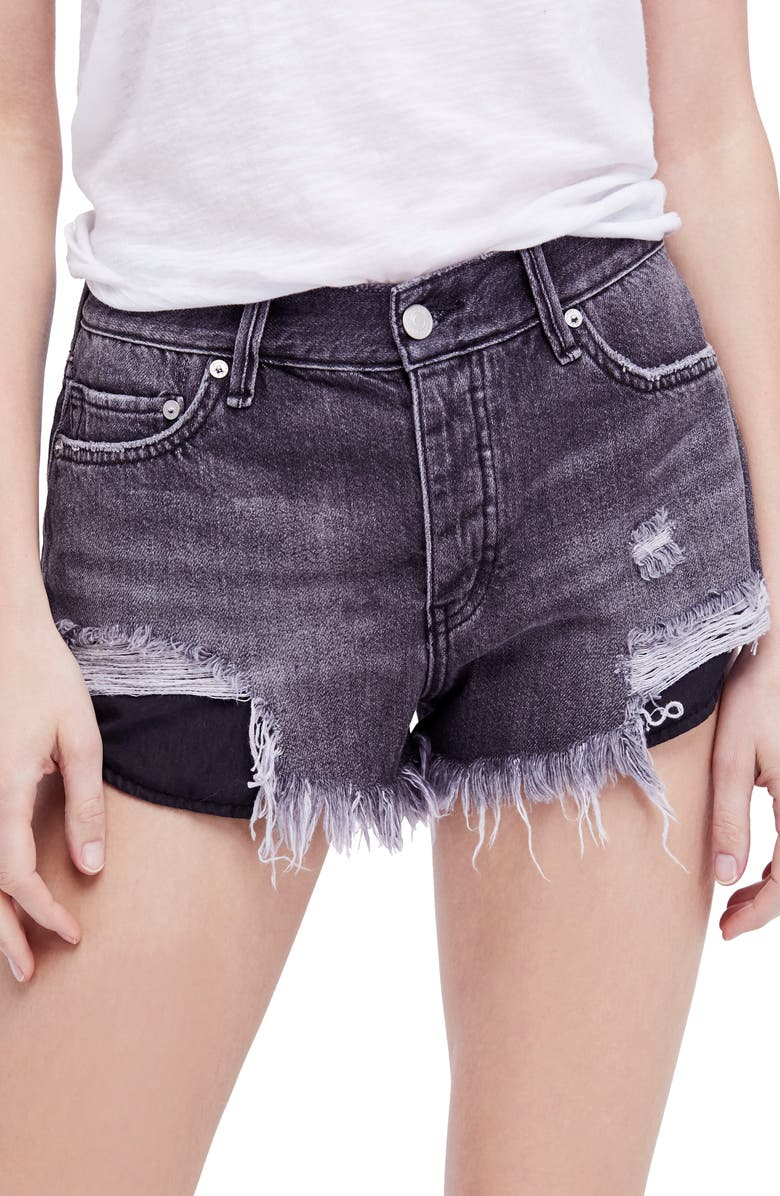Loving Good Vibrations Cutoff Denim Shorts