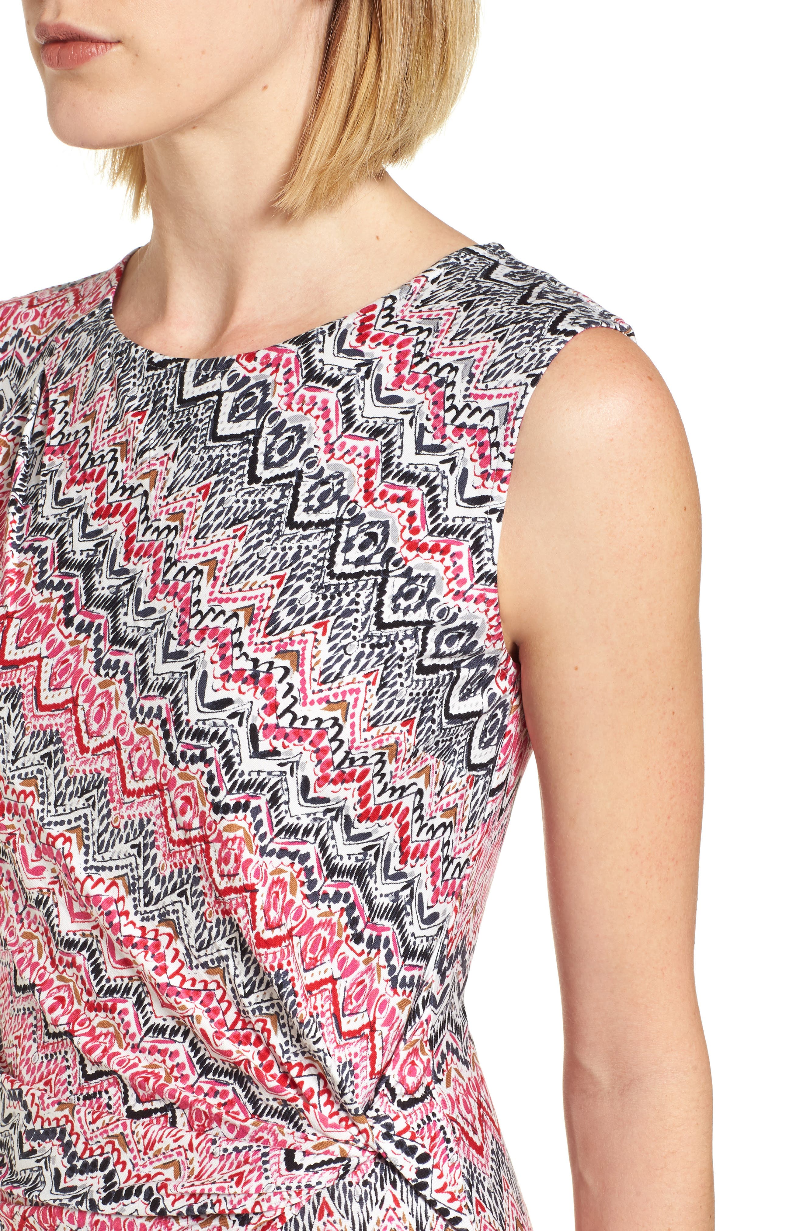 Alternate Image 4  - NIC+ZOE Spiced Up Twist Sheath Dress (Regular & Petite)