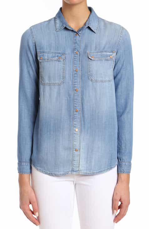 ed59c4300e70c9 Mavi Jeans Sammy Indigo Gold Denim Shirt