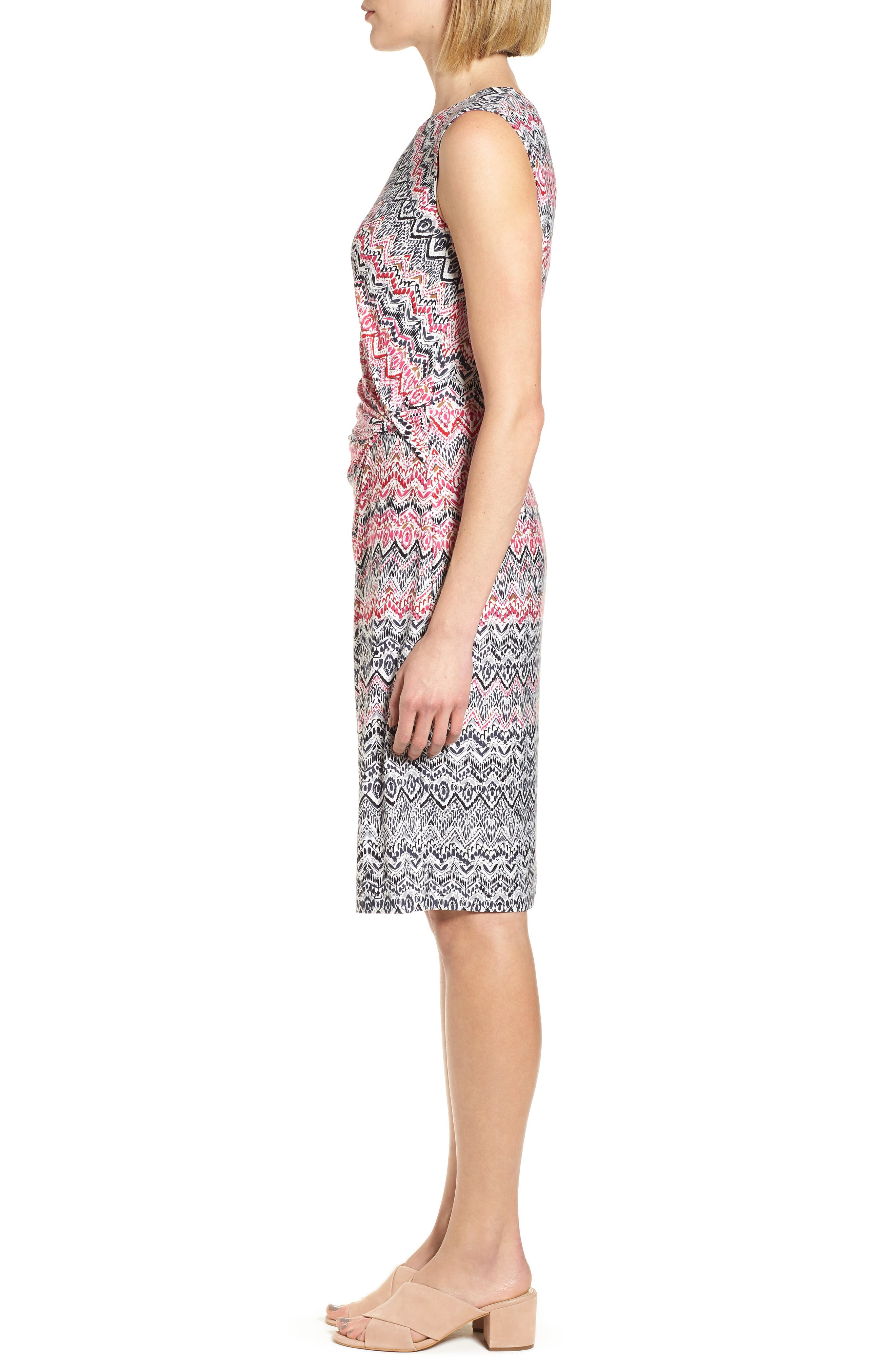 Alternate Image 3  - NIC+ZOE Spiced Up Twist Sheath Dress (Regular & Petite)