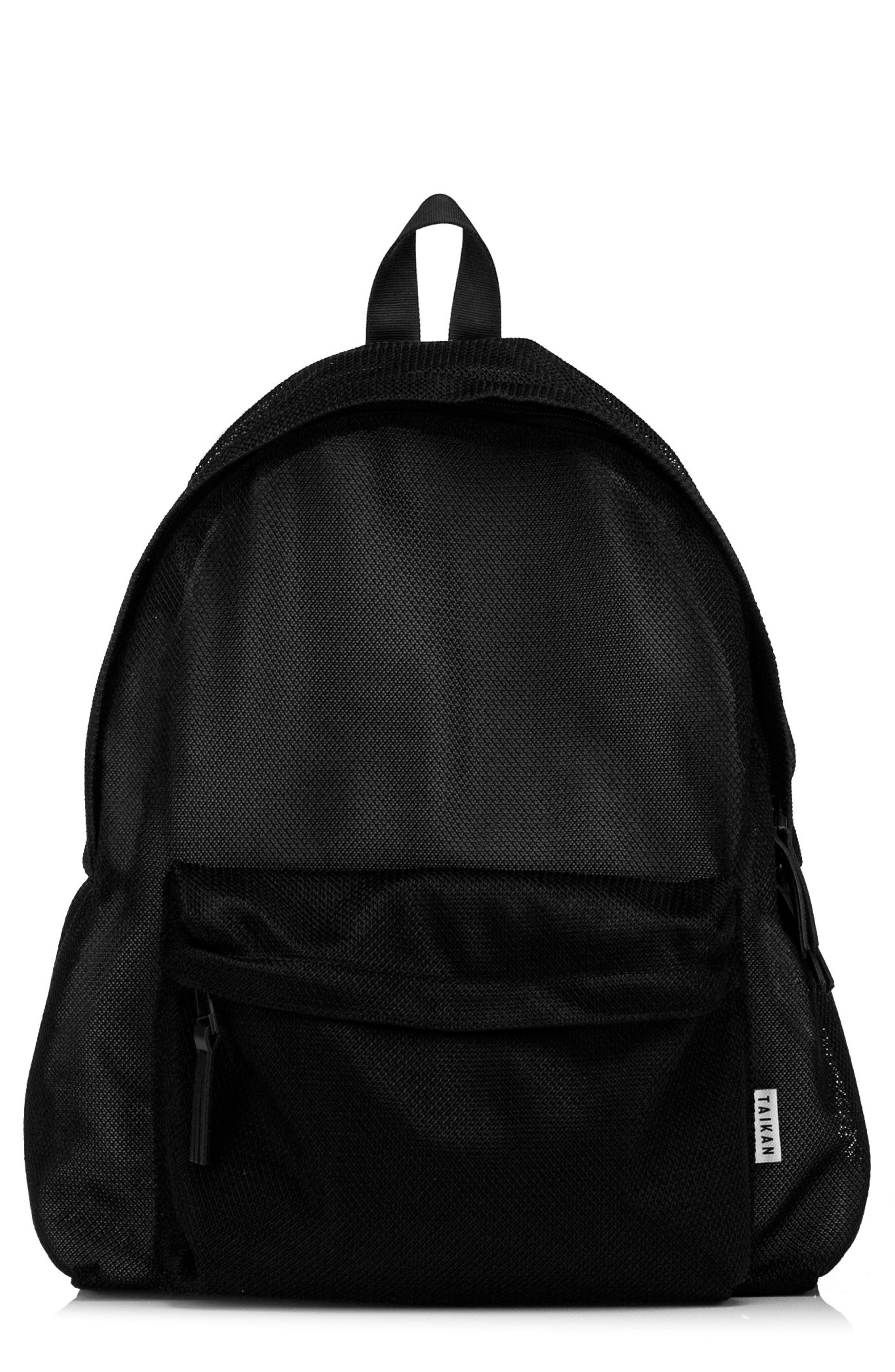 Hornet Mesh Backpack,                             Main thumbnail 1, color,                             Black Mesh