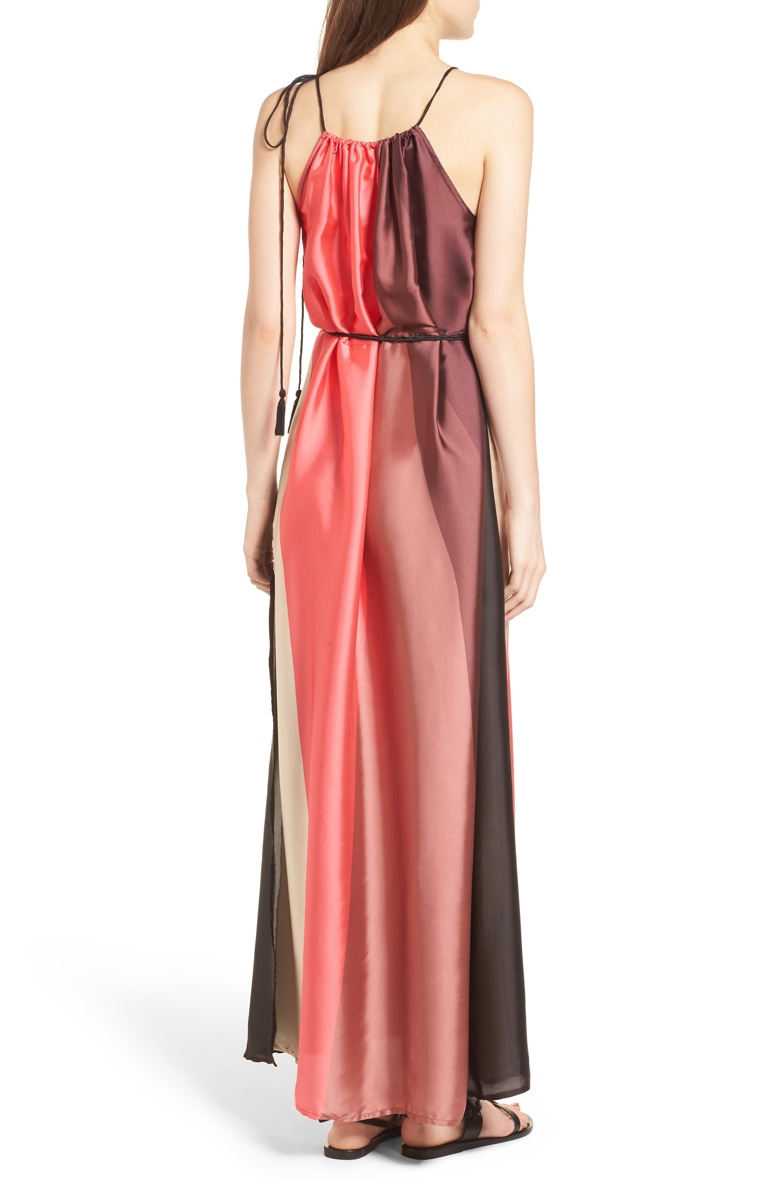 Icy Shores Maxi Dress,                             Alternate thumbnail 2, color,                             Multi